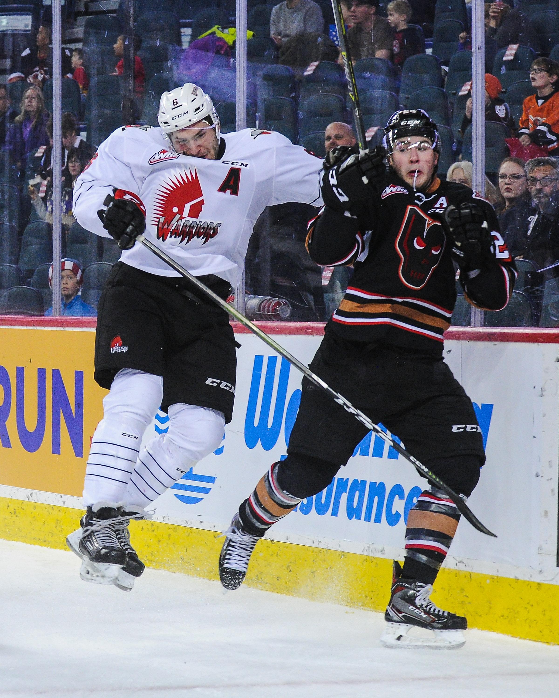Moose Jaw Warriors v Calgary Hitmen