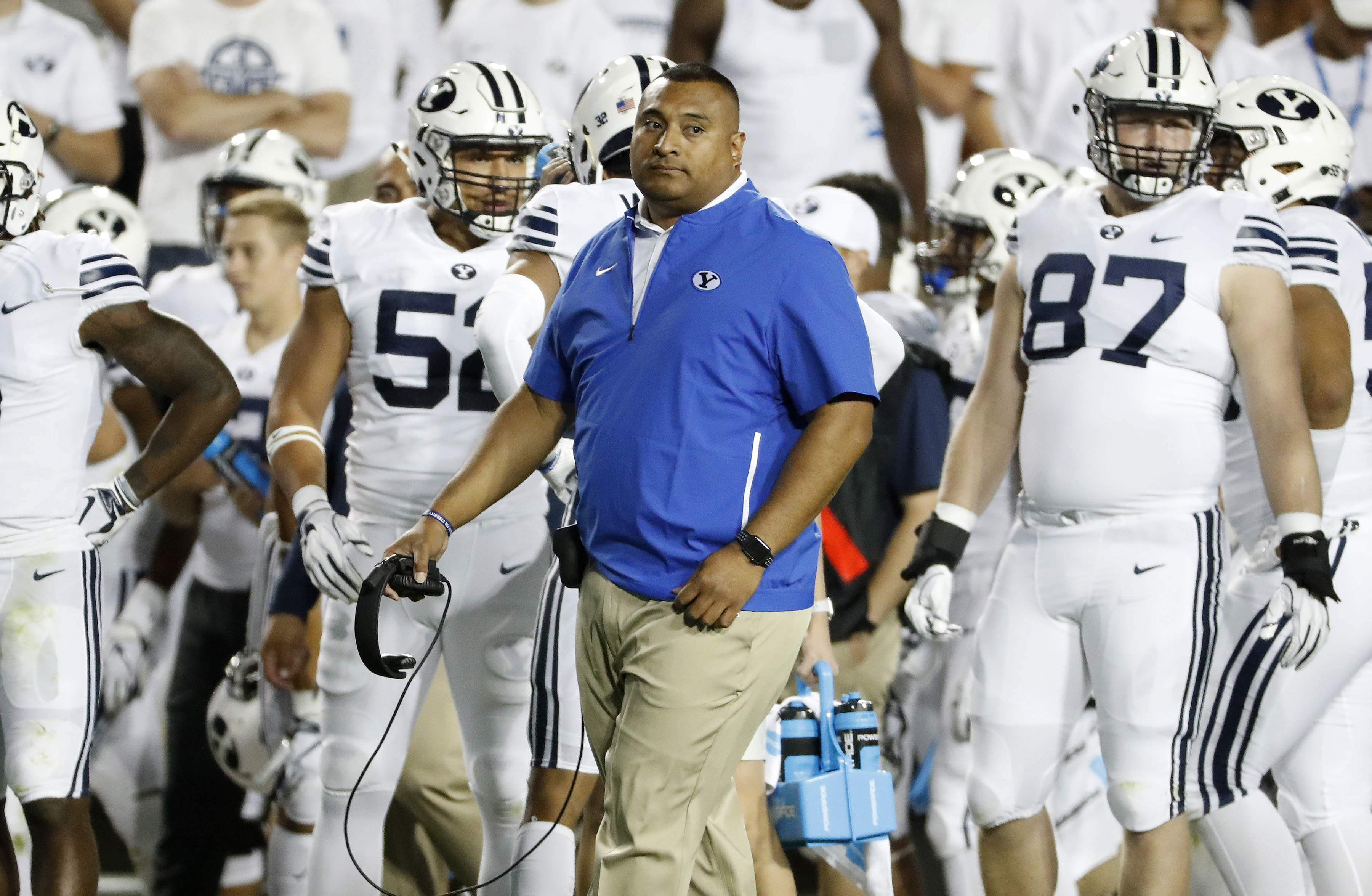 NCAA Football: California at Brigham Young