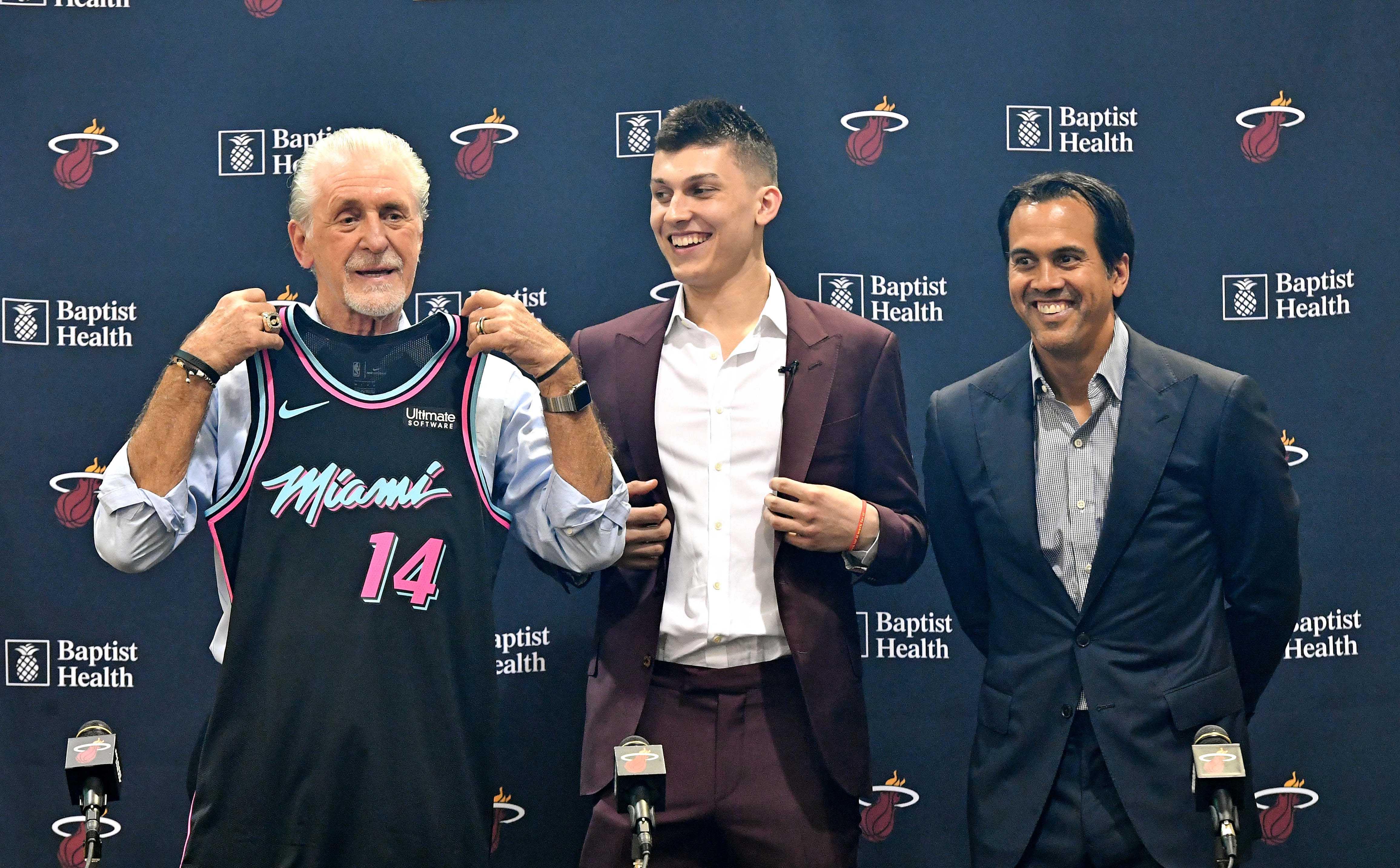 NBA: Miami Heat-Press Conference