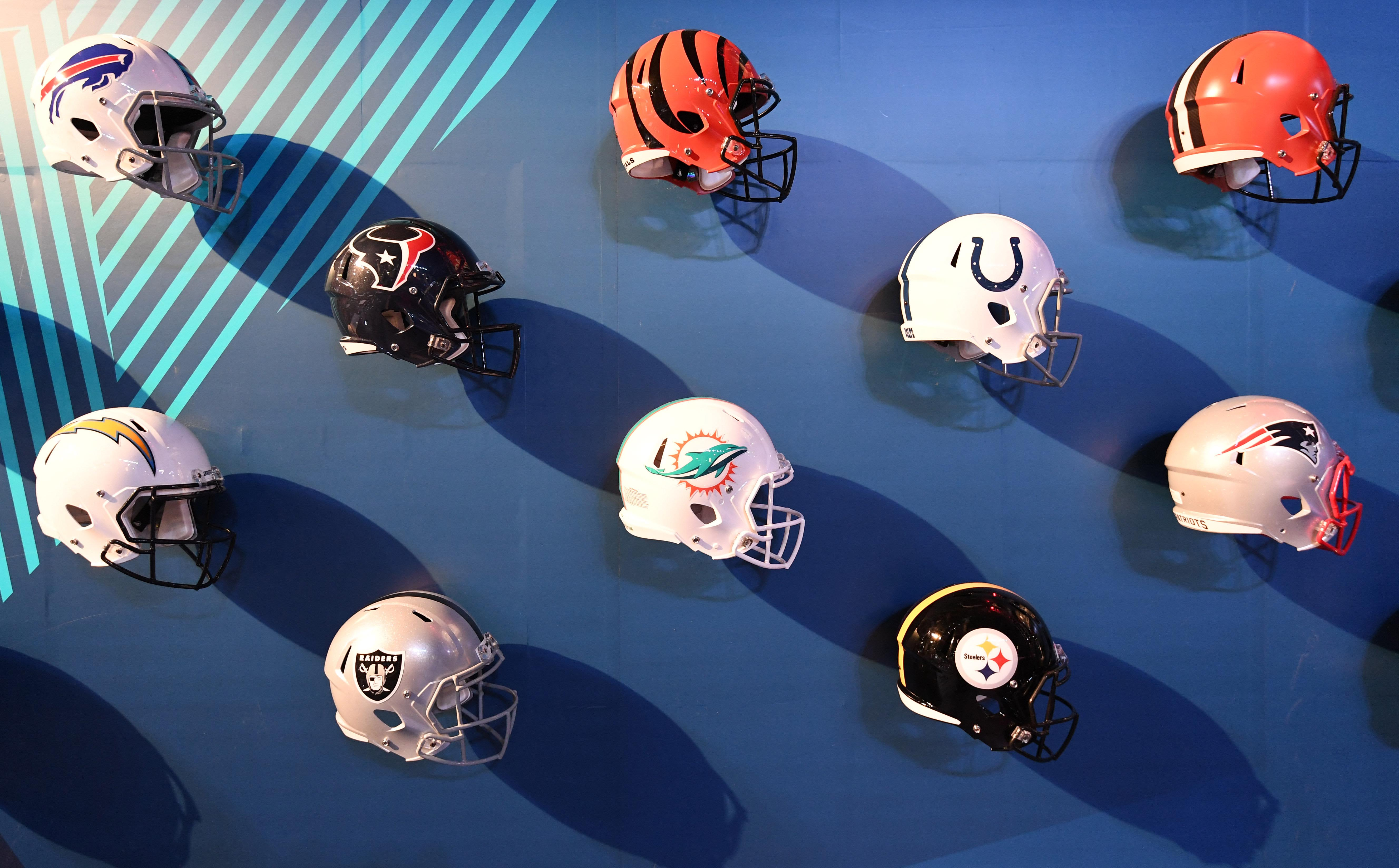 c4207add NFL Power Rankings: All 32 NFL helmets from worst to first - Behind ...