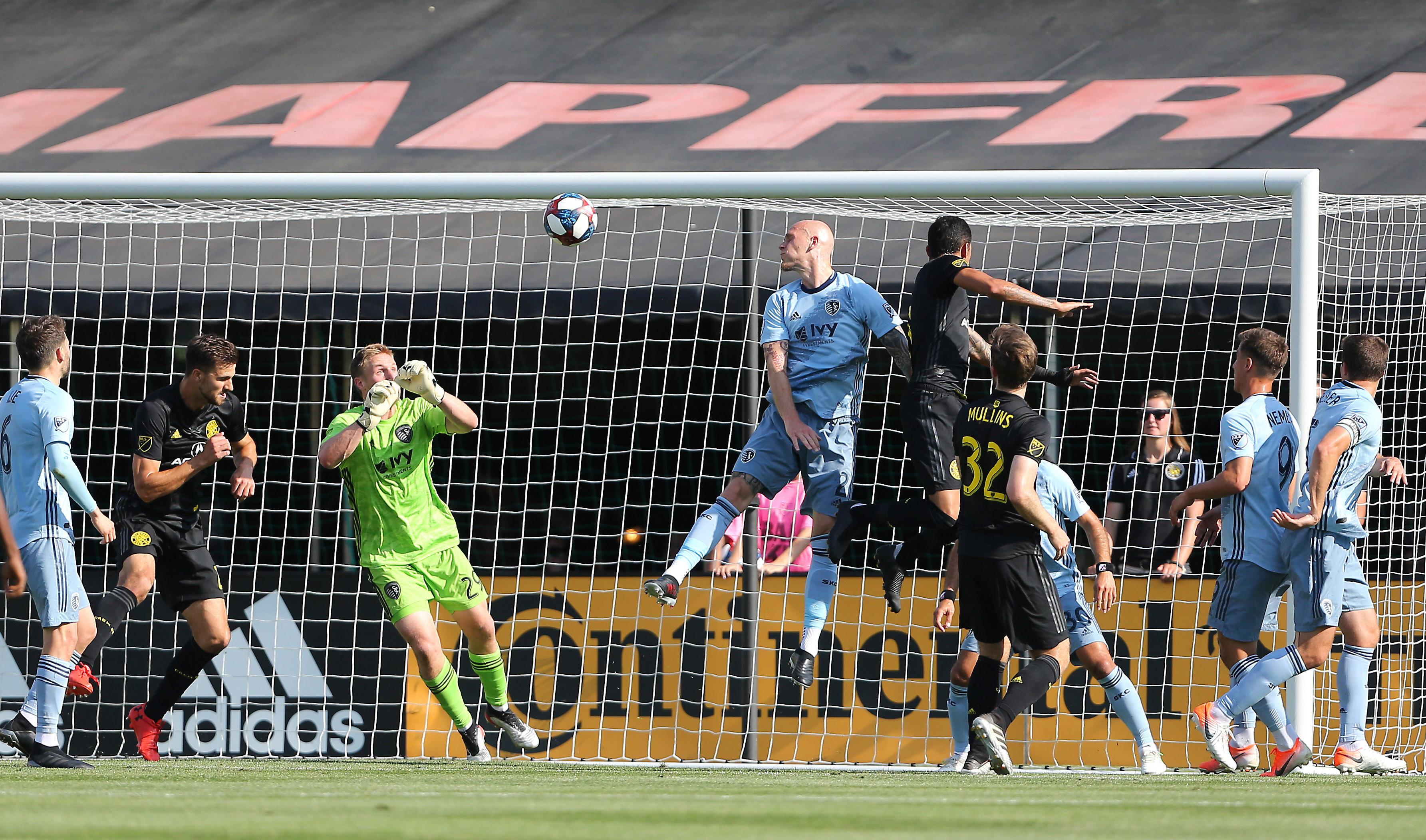 MLS: Sporting Kansas City at Columbus Crew SC
