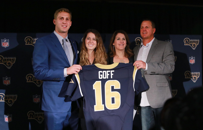 Los Angeles Rams Introduce Jared Goff