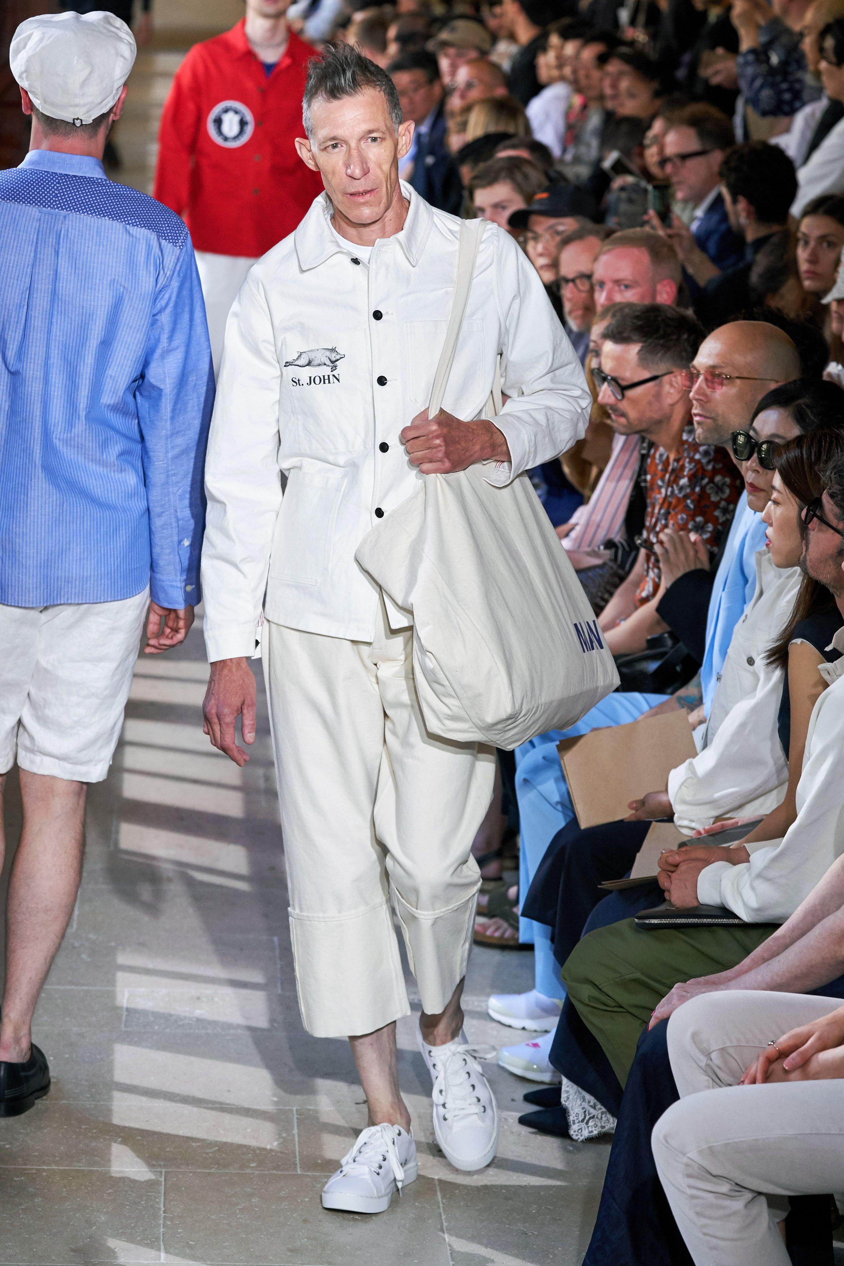St John restaurant collaborates with Junya Watanabe at Paris Fashion Week