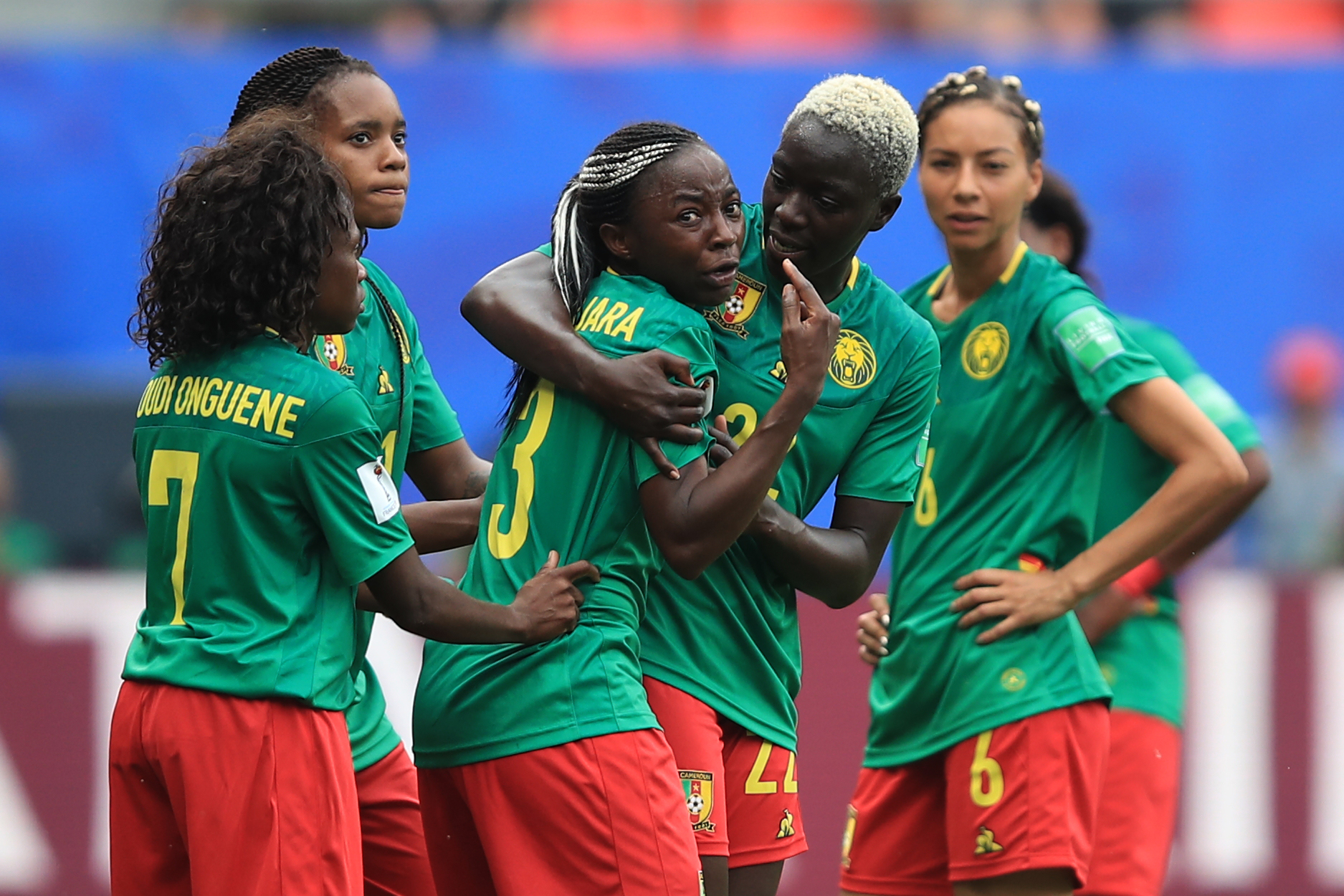 Cameroon is allowed to get upset without having to answer to your kids