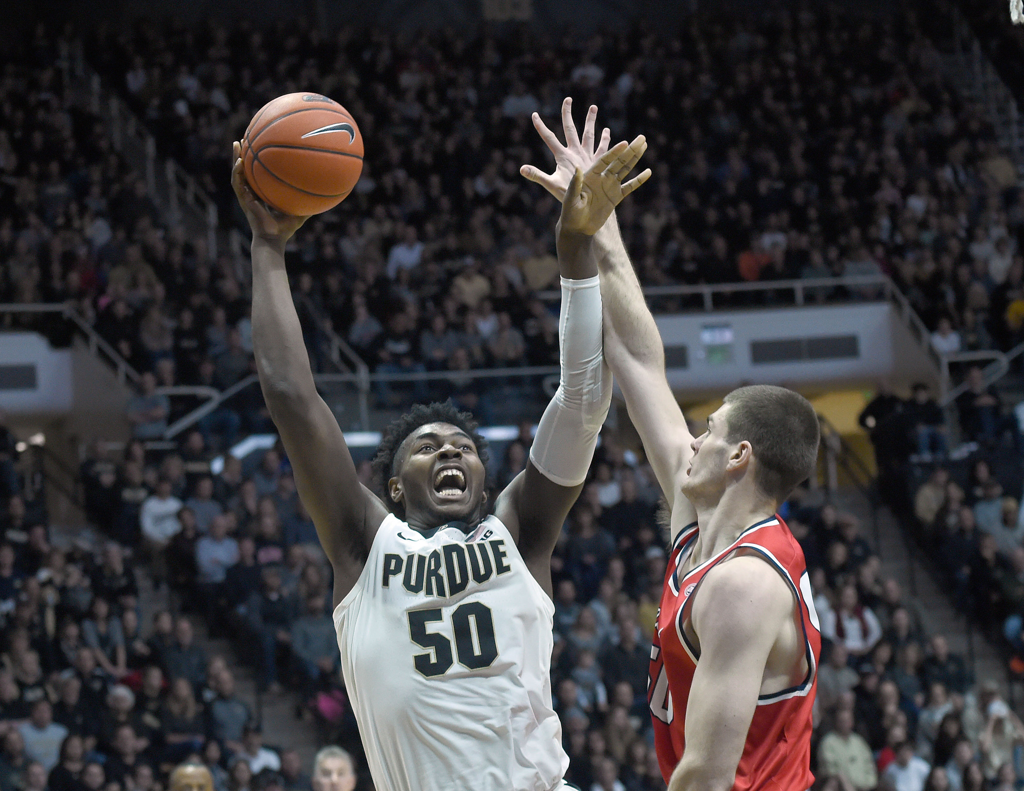 NCAA Basketball: Belmont at Purdue