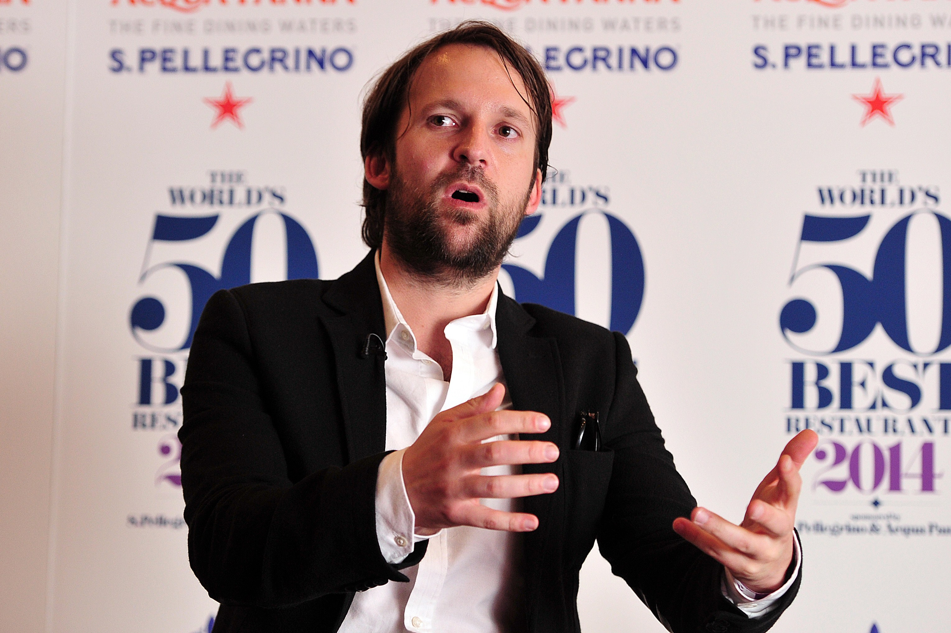 René Redzepi's Noma was No. 1 in 2014, 2012, 2011, and 2010. It is eligible to be on the list this year because it relocated.