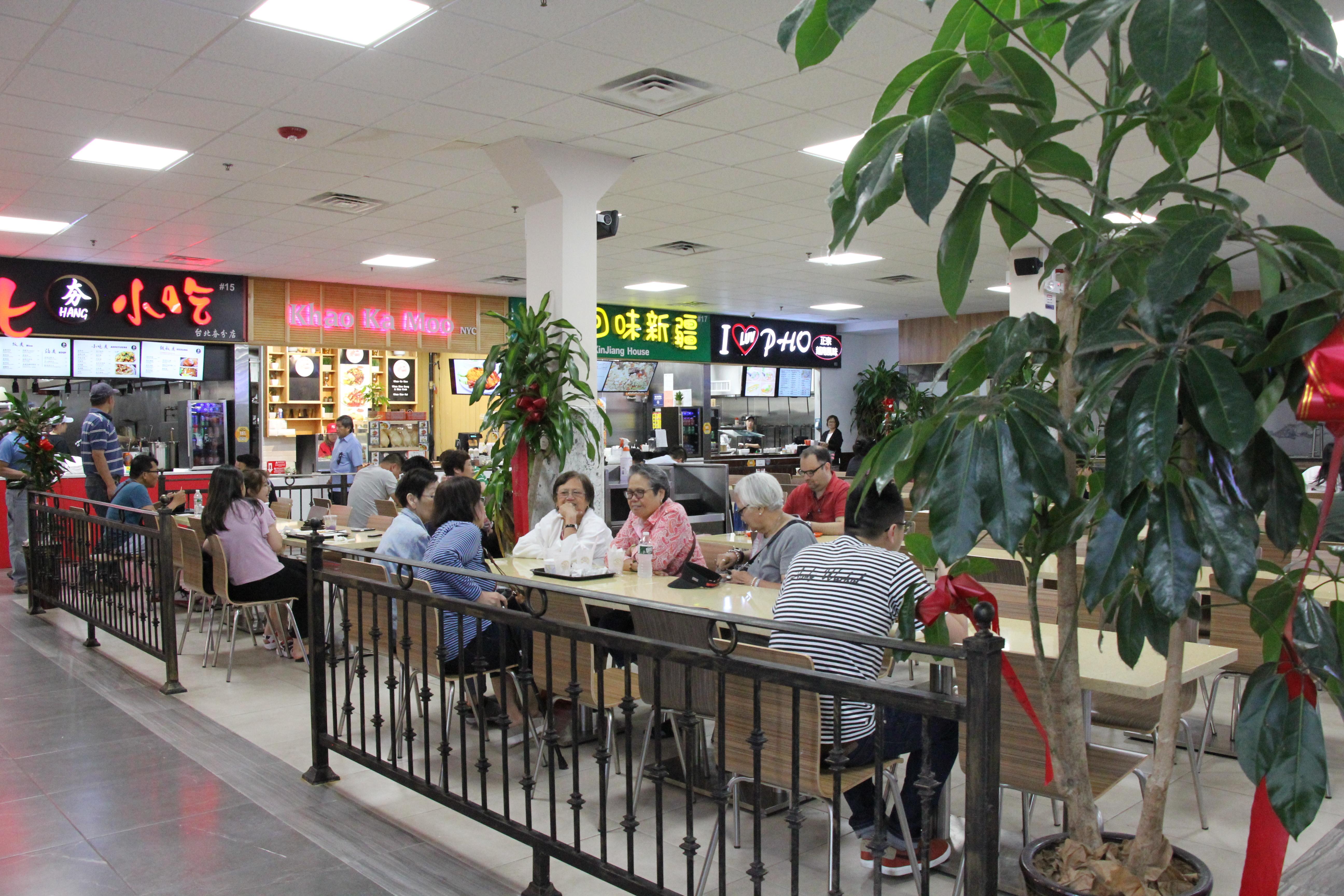 All the Vendors Inside Elmhurst's Jam-Packed New Asian Food Hall