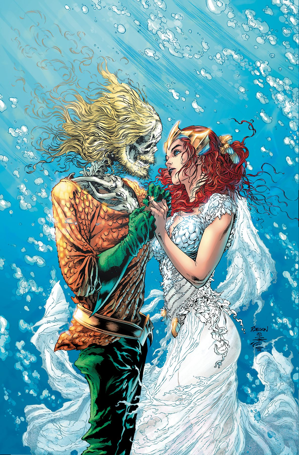 Aquaman's having a baby, and everything else happening in the best new comics