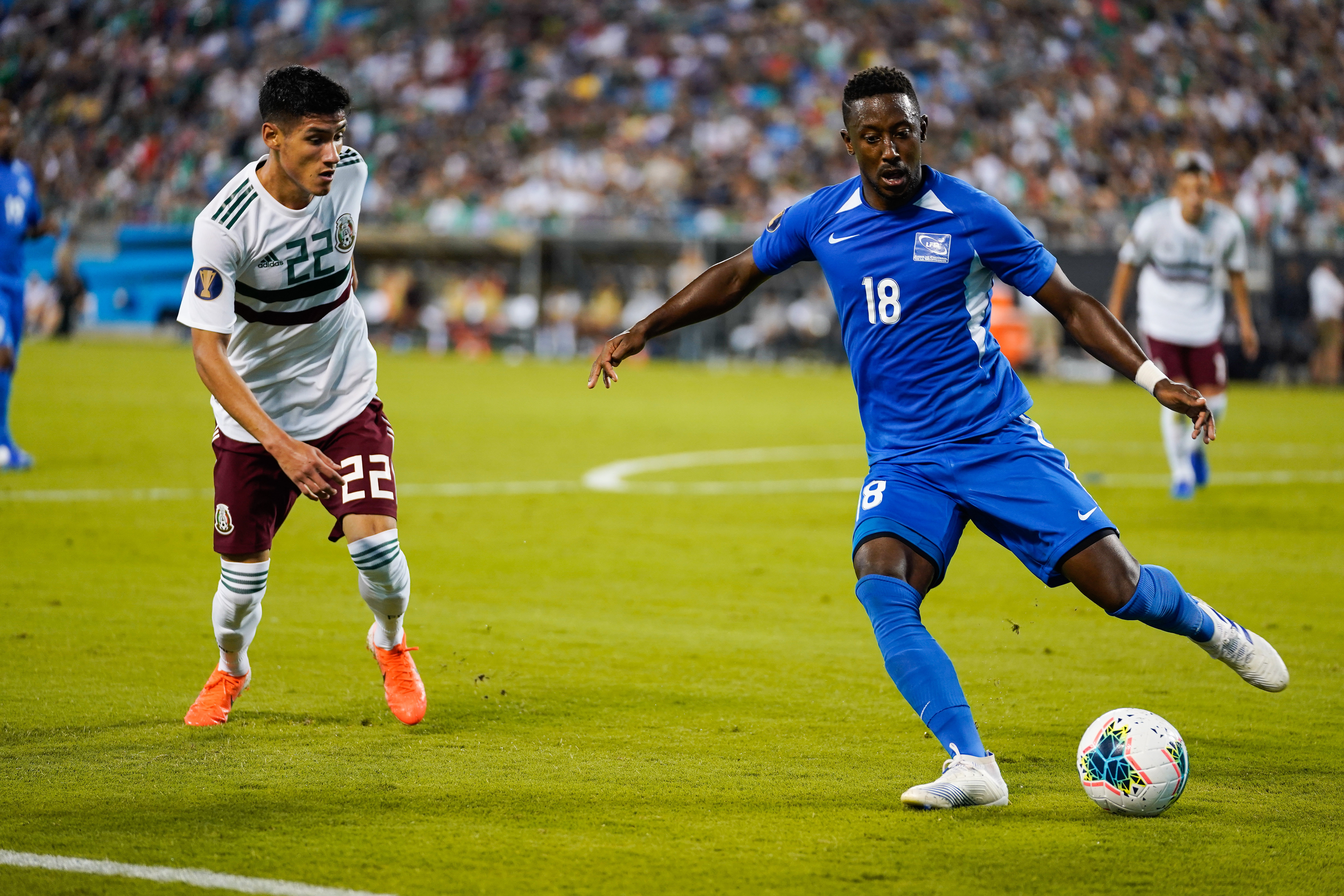 Soccer: CONCACAF Gold Cup-Martinique at Mexico