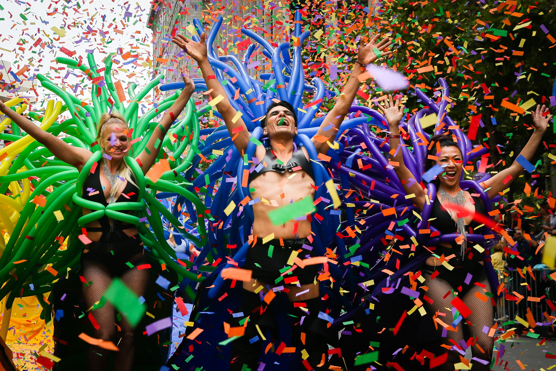 San Francisco Hosts Annual Its Gay Pride Parade