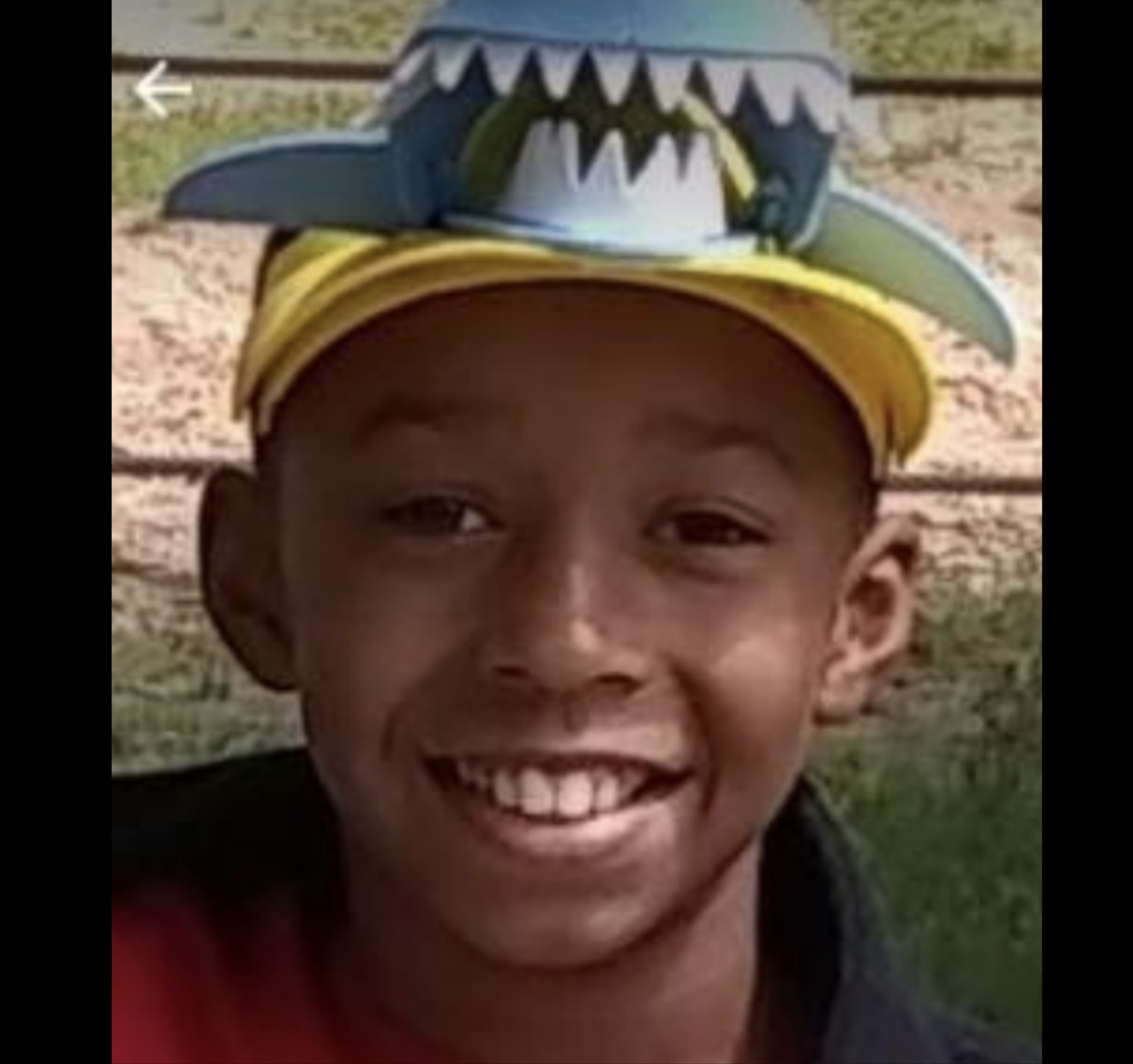 Photo of missing boy Aaron Grant