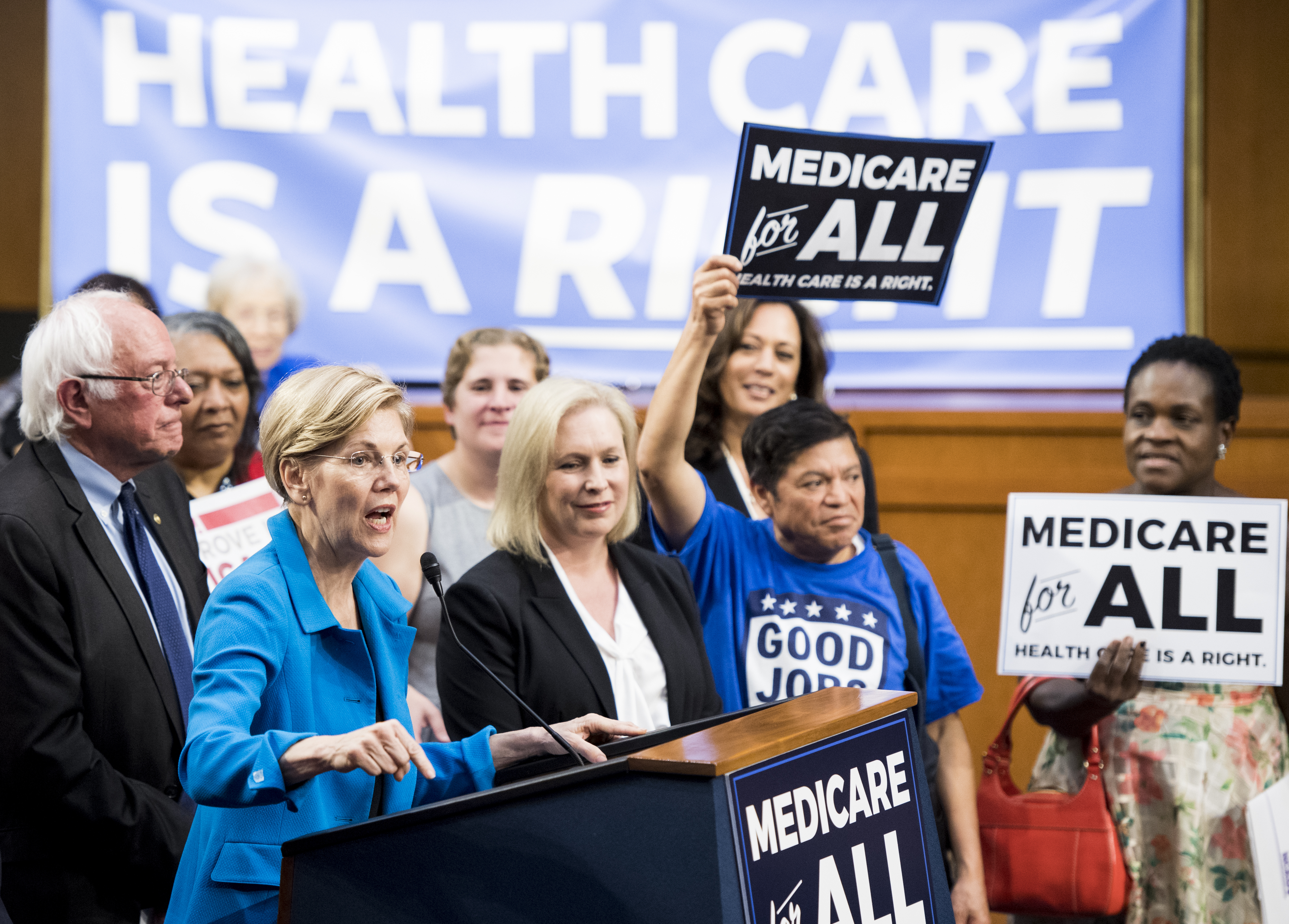 Where the 2020 Democrats agree — and disagree — on Medicare-for-all