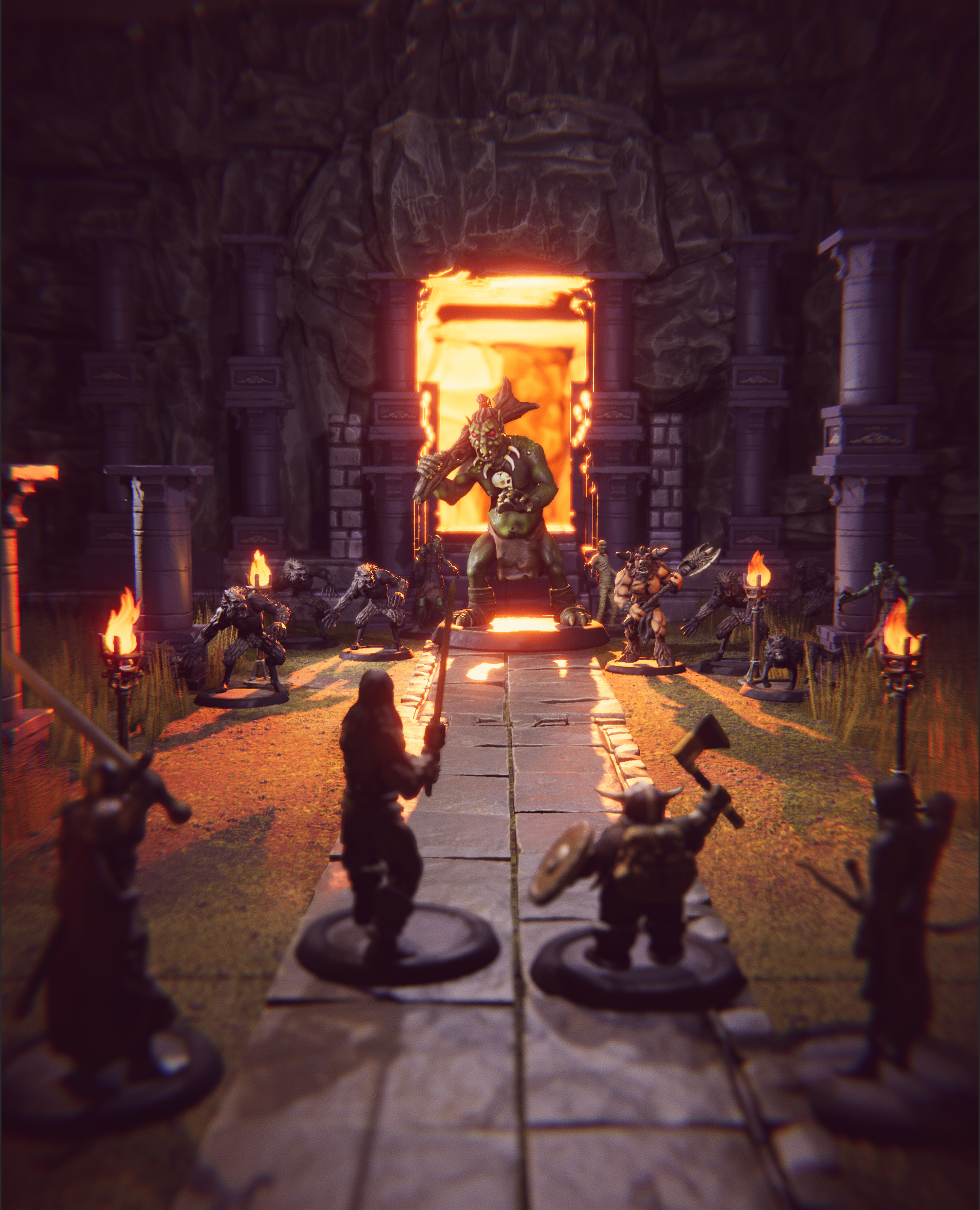 New Kickstarter could recreate tabletop RPGs with Minecraft