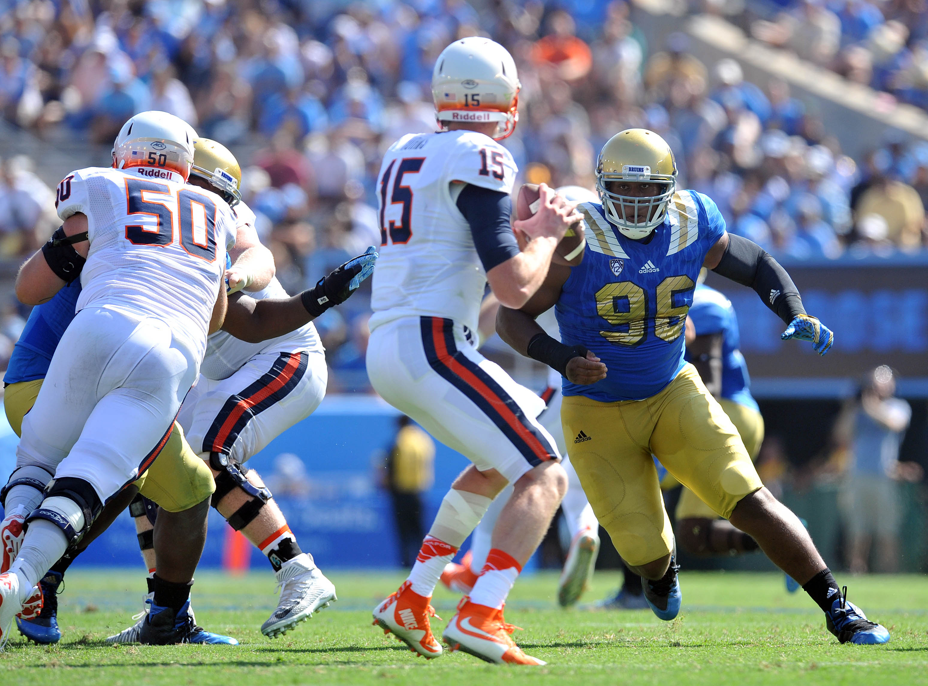 NCAA Football: Virginia at UCLA