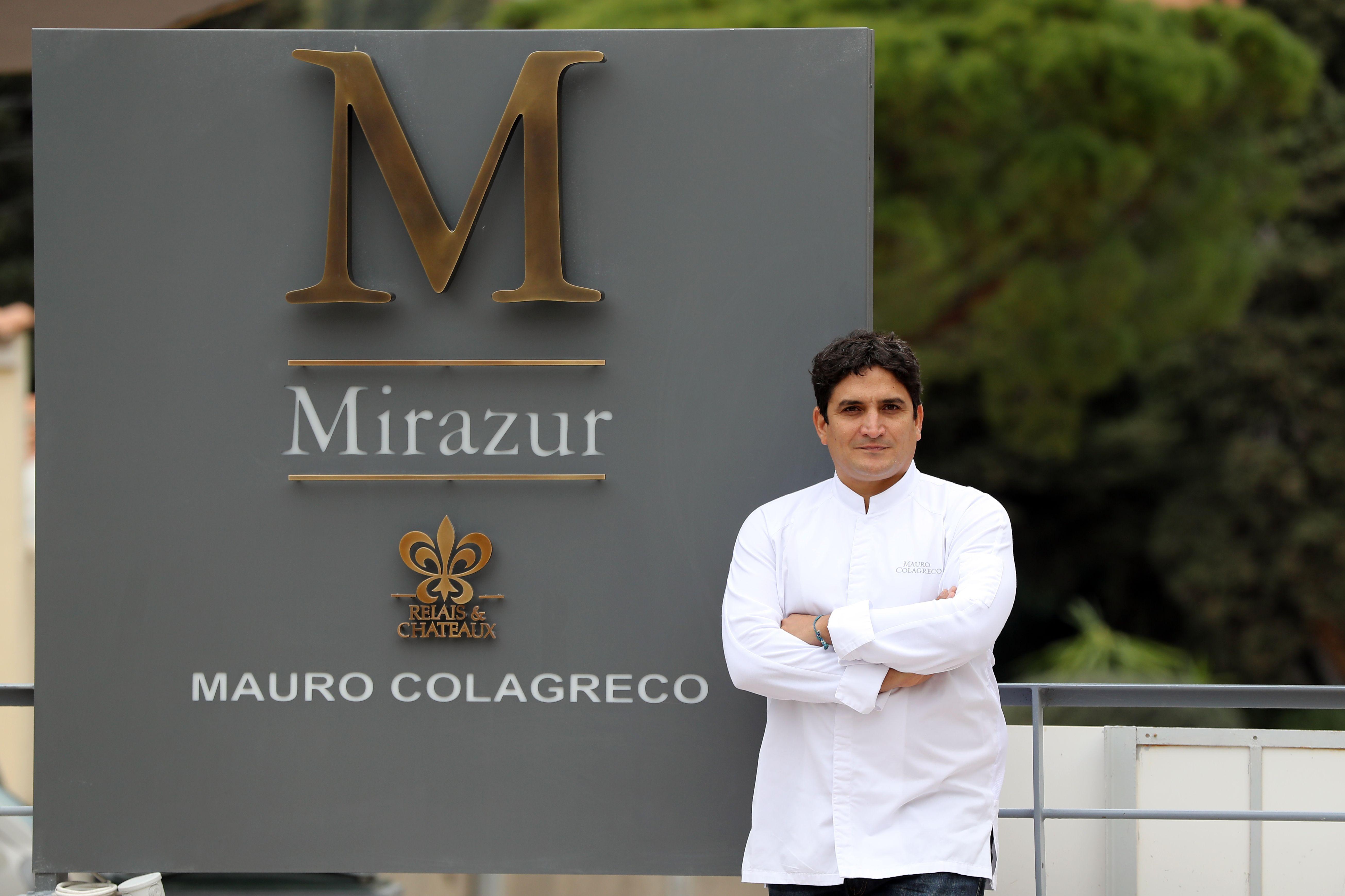 Chef Mauro Colagreco at Mirazur