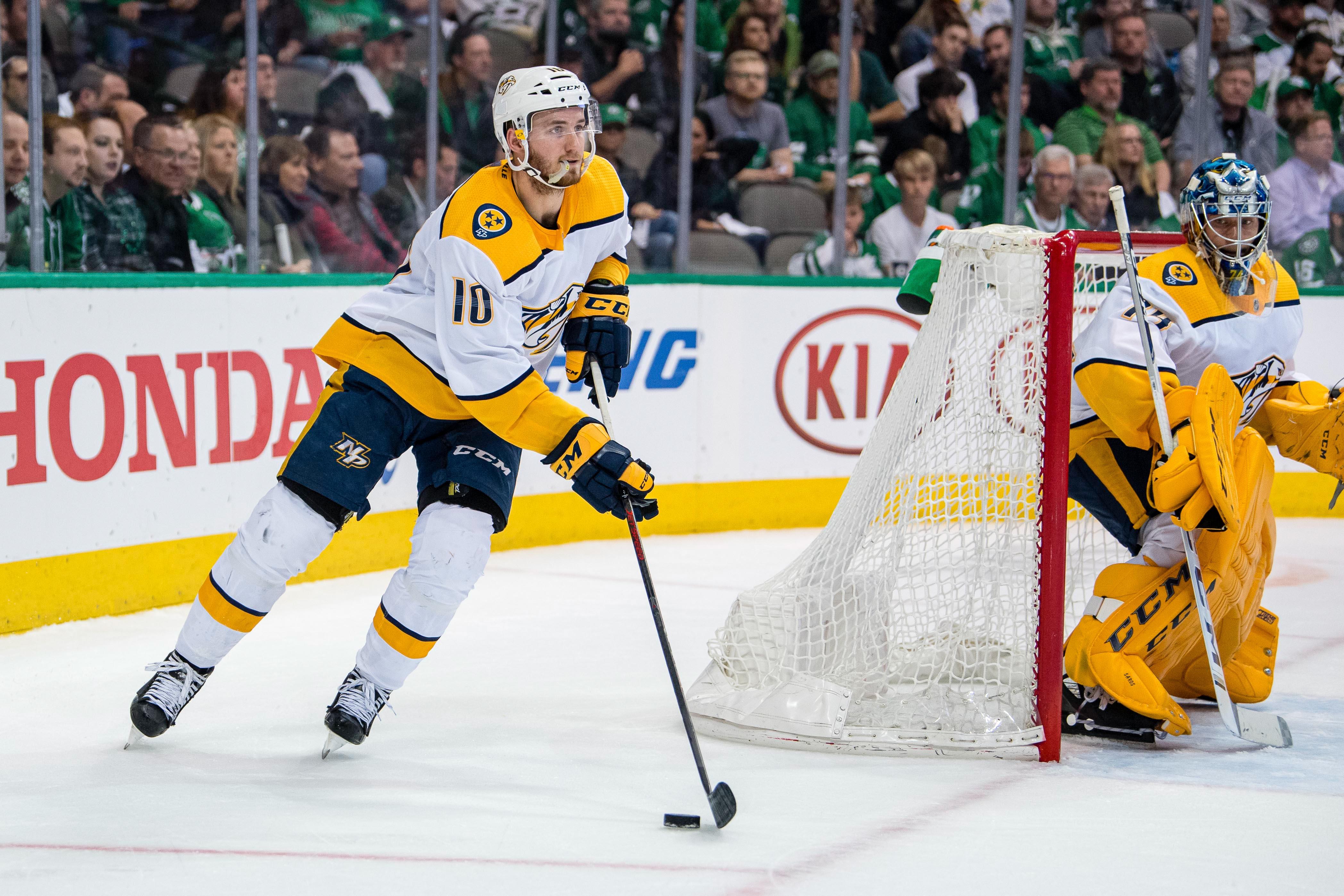 NHL: Stanley Cup Playoffs-Nashville Predators at Dallas Stars