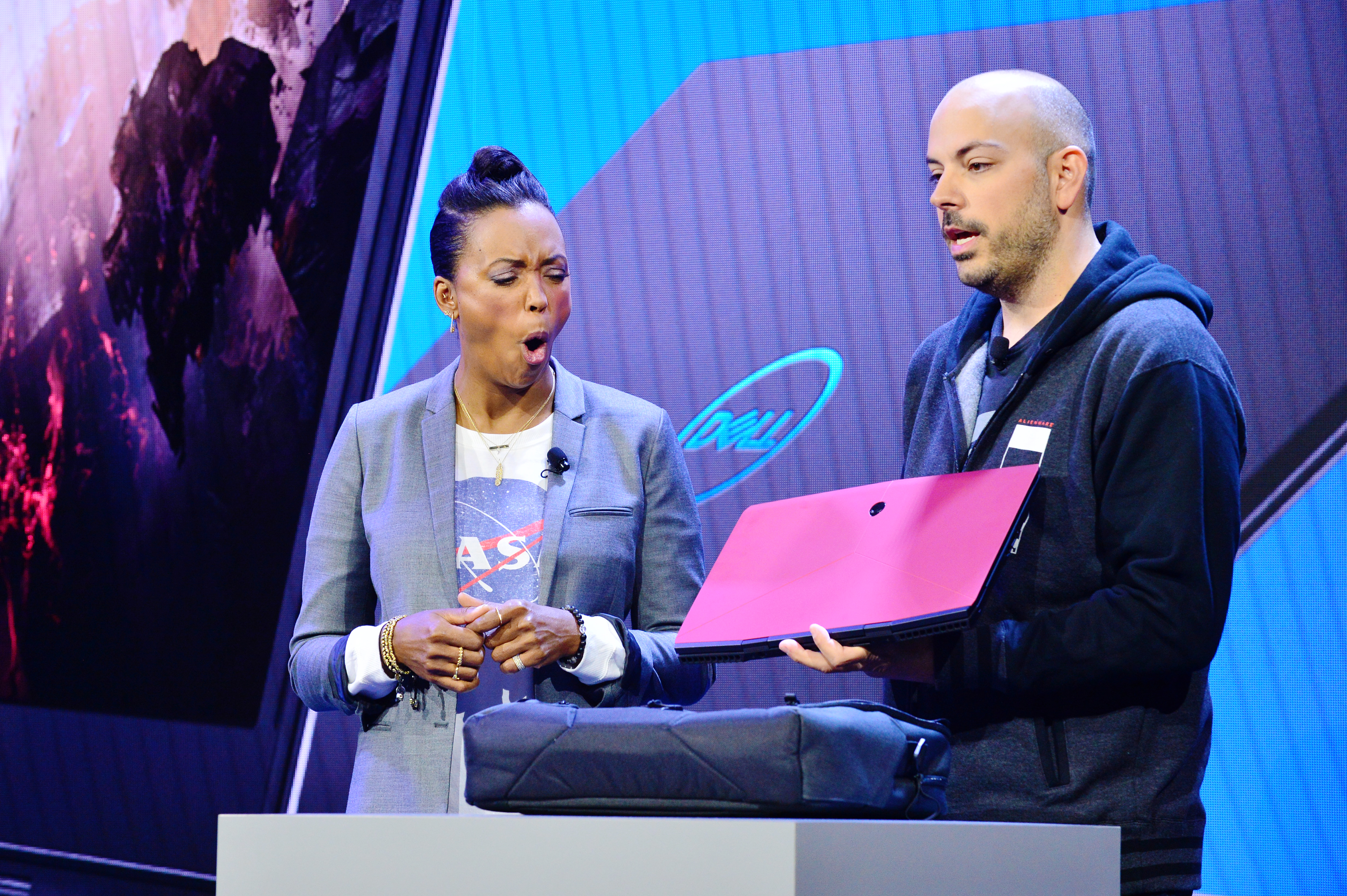 Actress And Director Aisha Tyler Join #DellExperience At CES 2019