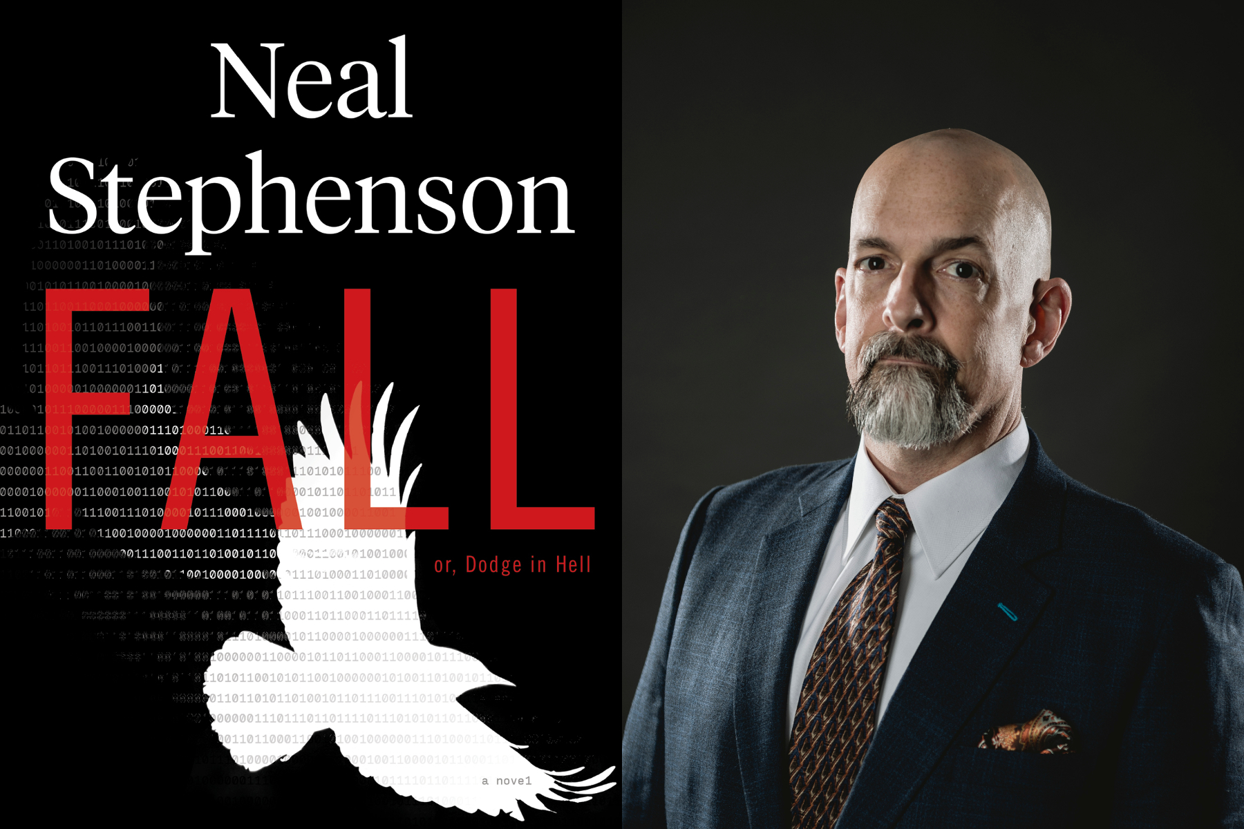 In Fall, Neal Stephenson does Paradise Lost with computers
