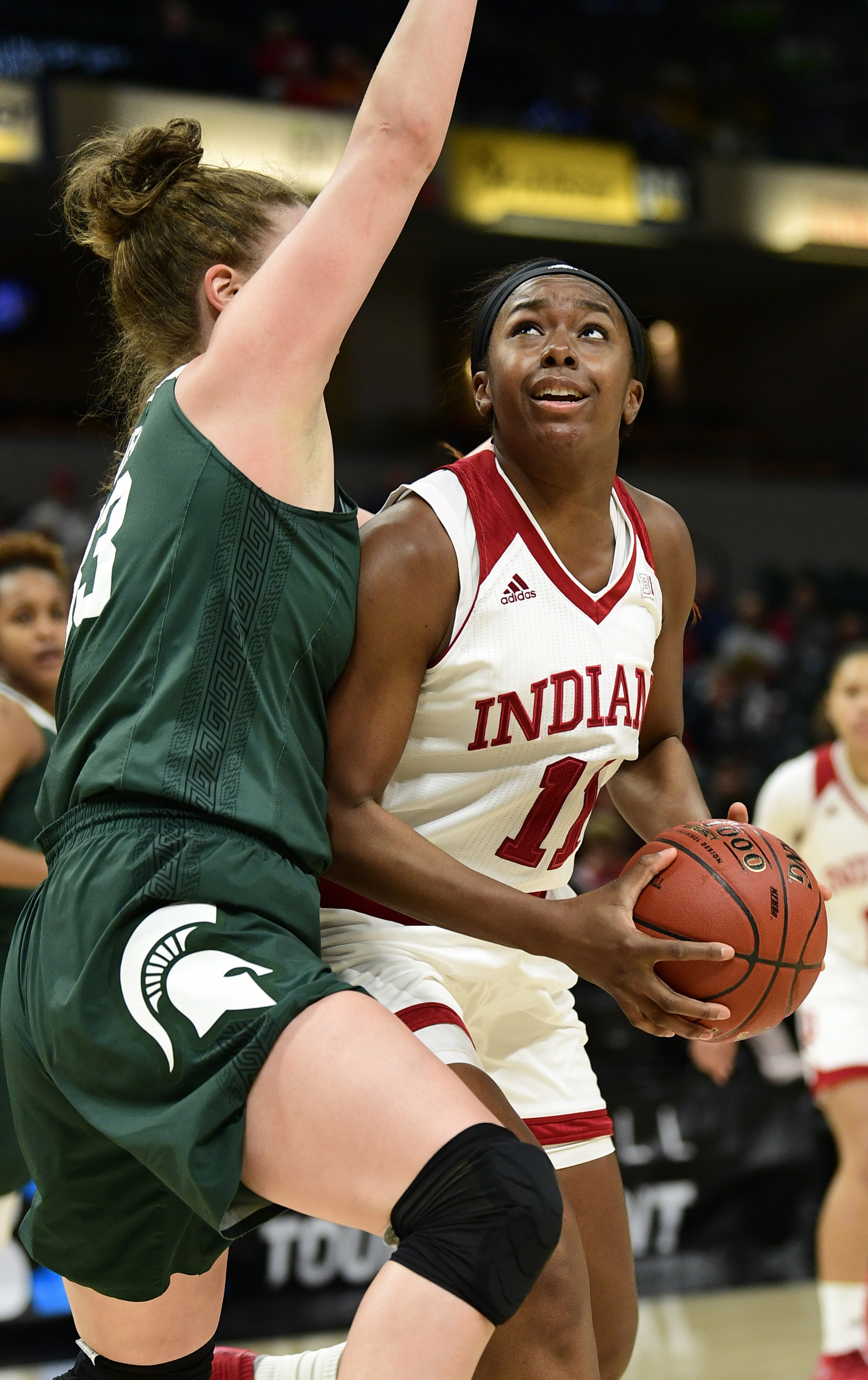 NCAA Womens Basketball: Big Ten Conference Tournament Indiana vs Michigan State