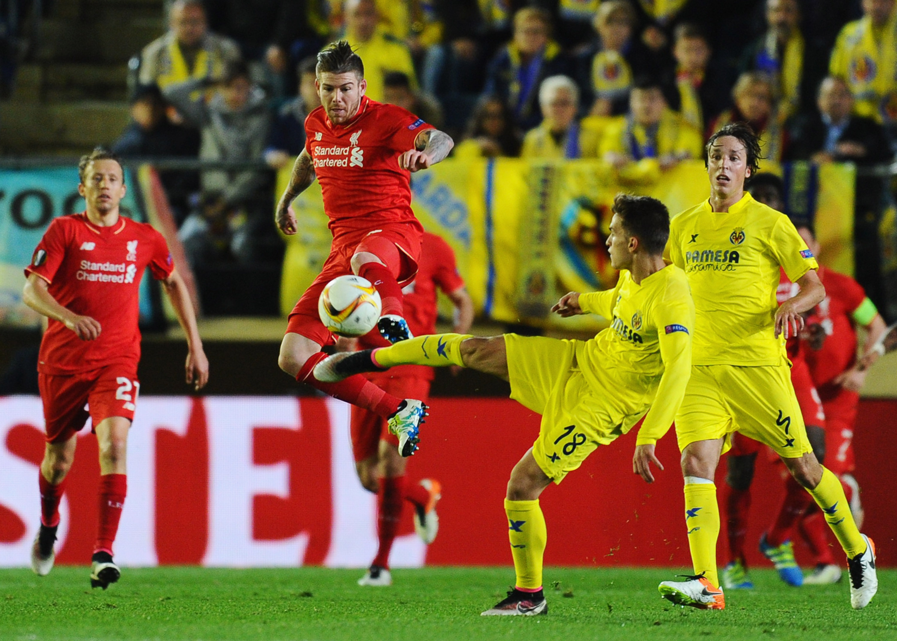 Villarreal CF v Liverpool - UEFA Europa League Semi Final: First Leg