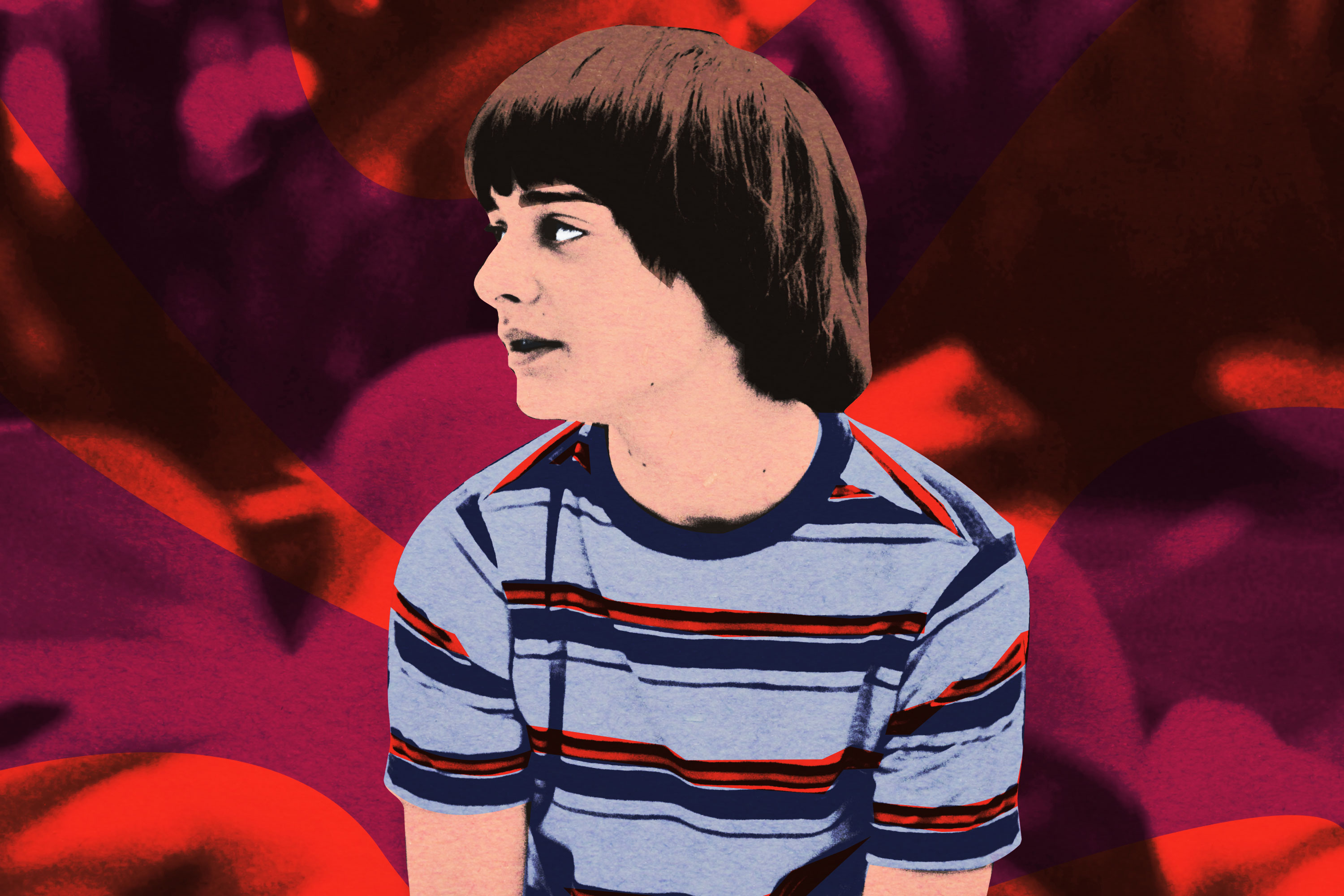 A photo illustration of Will Byers from 'Stranger Things'