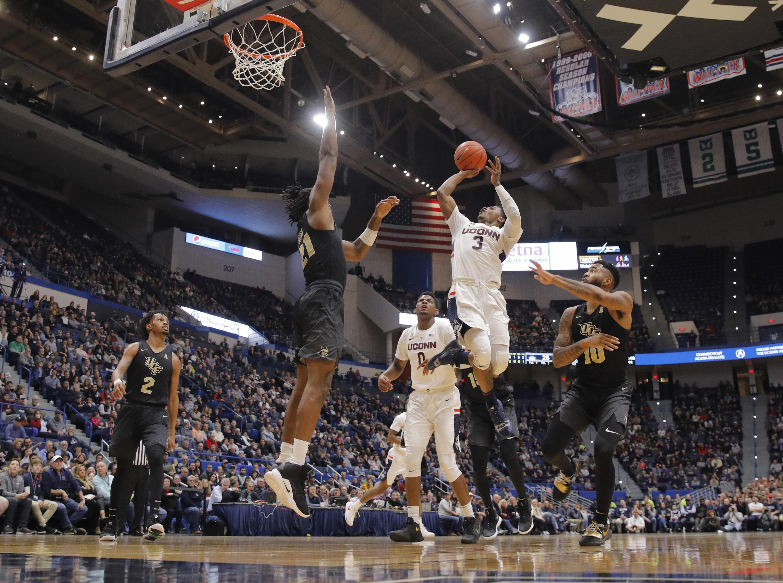 NCAA Basketball: Central Florida at Connecticut