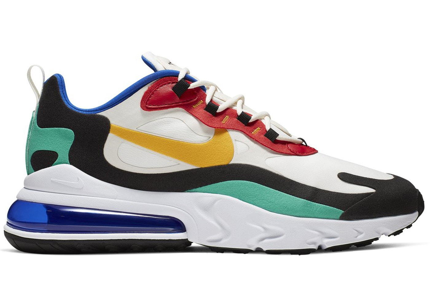 Sneaker in primary colors