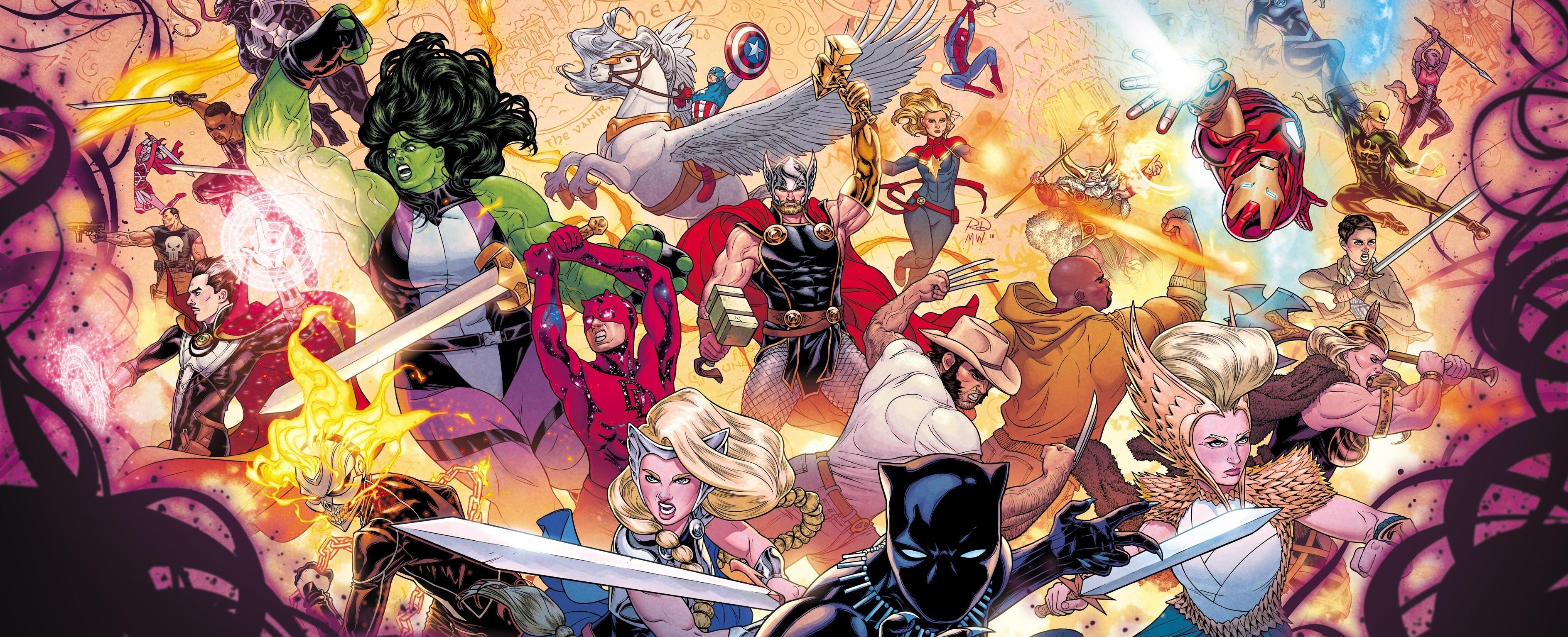 The War of the Realms ended the biggest Thor event in ages: Here's what happened