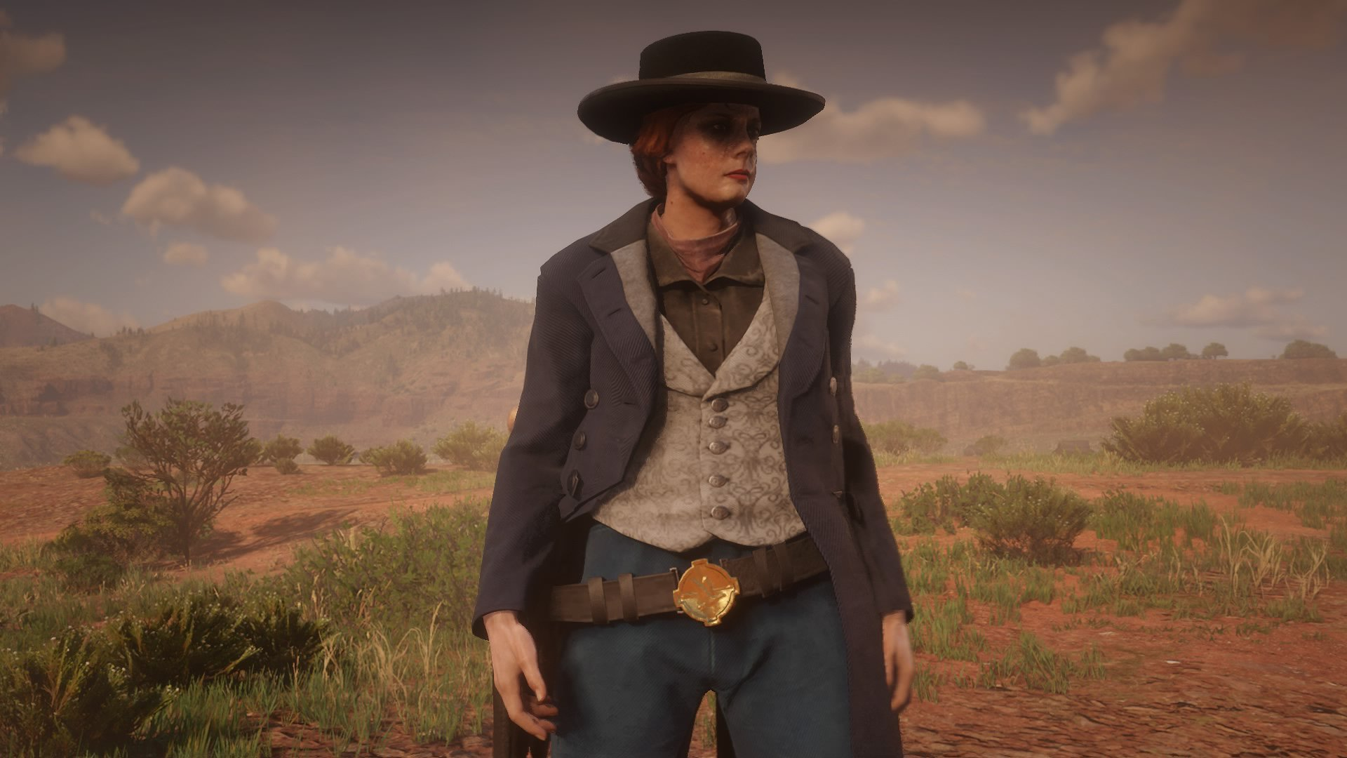 Red Dead Online - a shot of a player about to enter Gun Rush