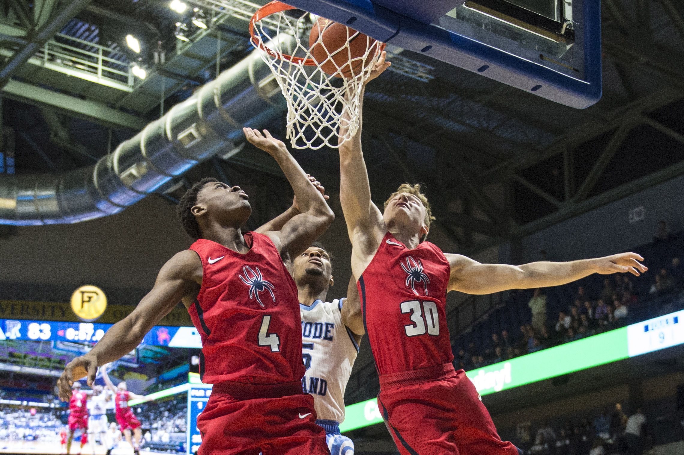 NCAA Basketball: Richmond at Rhode Island