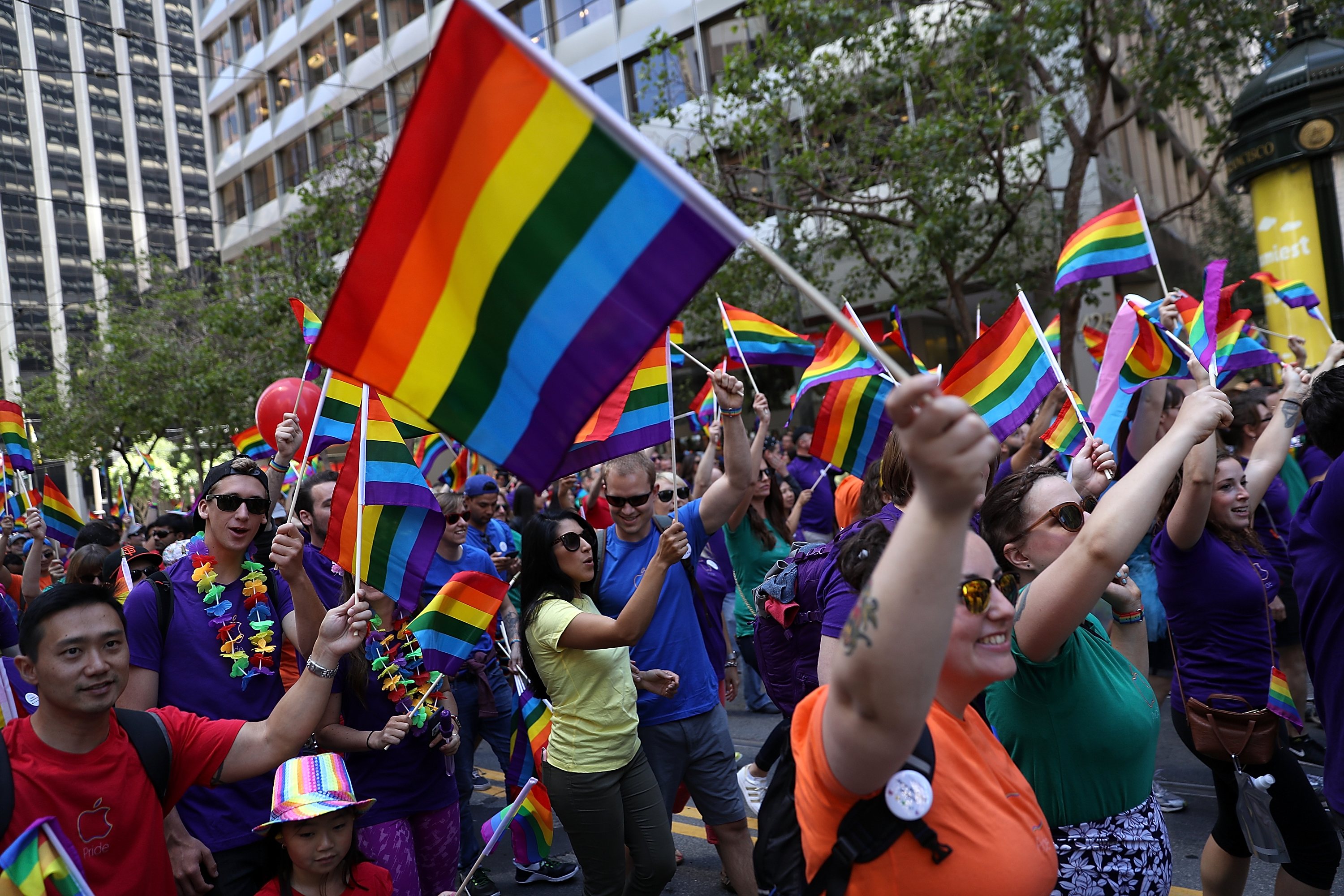 San Francisco Holds Annual Gay Pride Parade