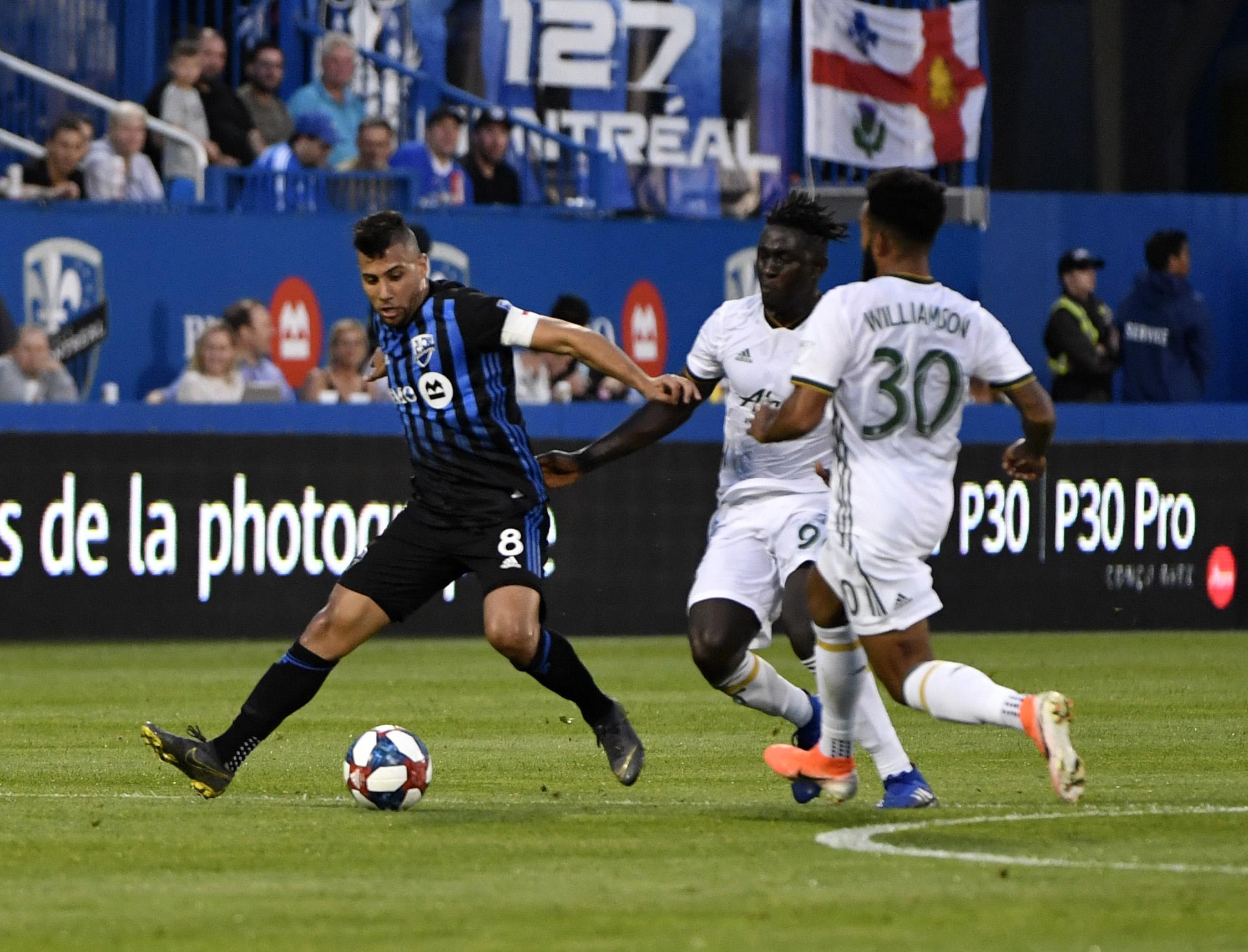 MLS: Portland Timbers at Montreal Impact