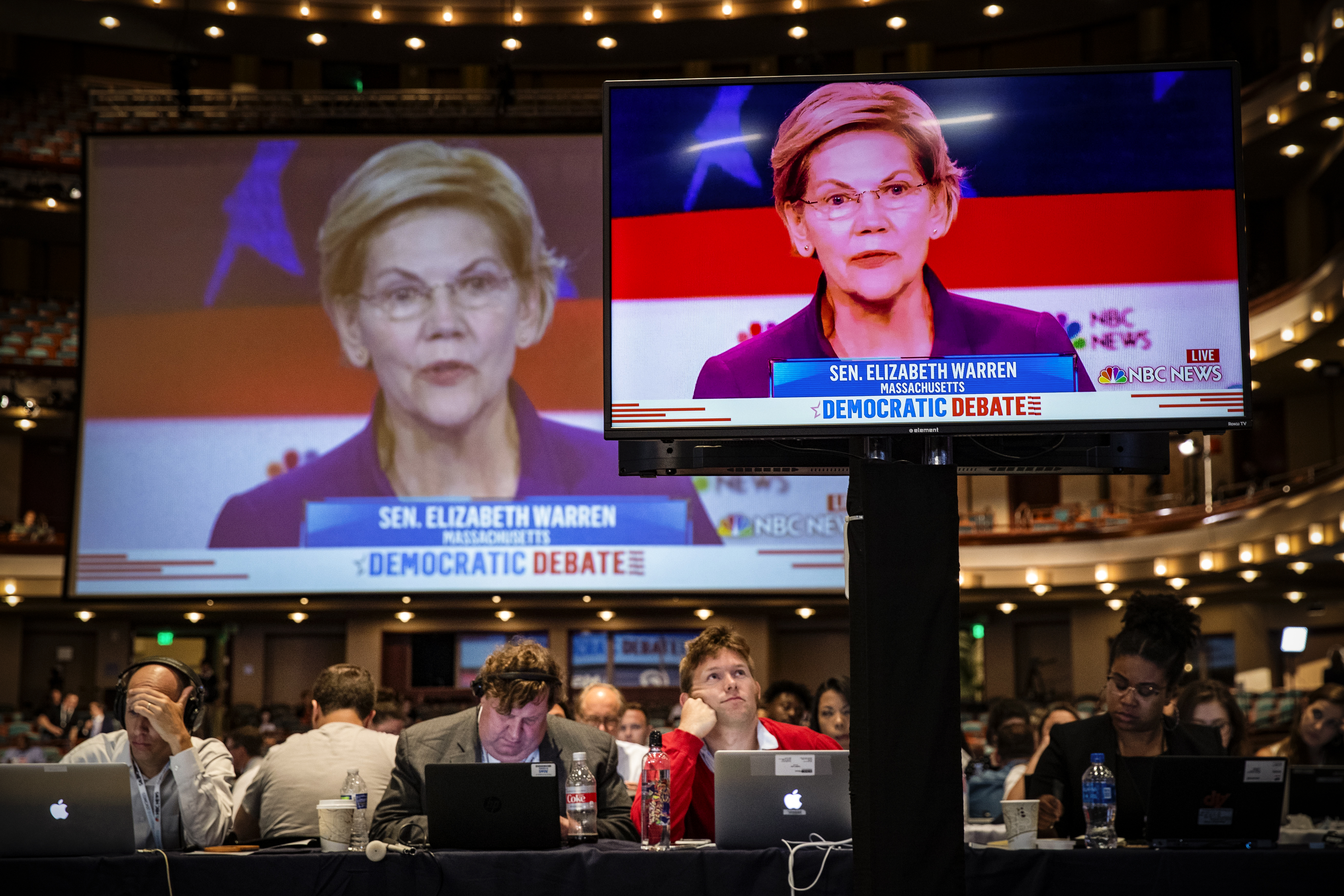 The first Democratic debate shows how far the party has moved to the left