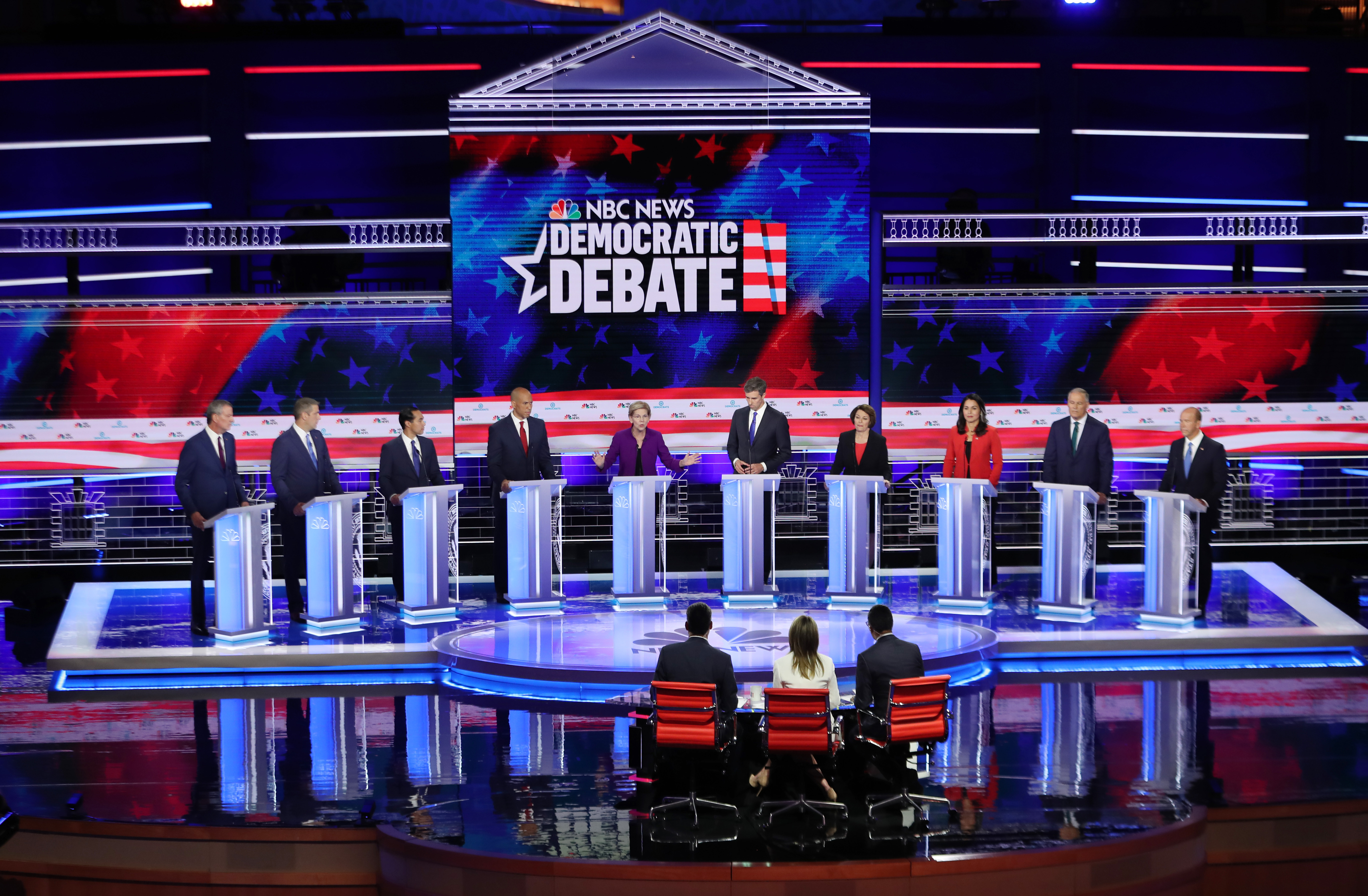 The top 3 foreign policy moments of the first Democratic debate