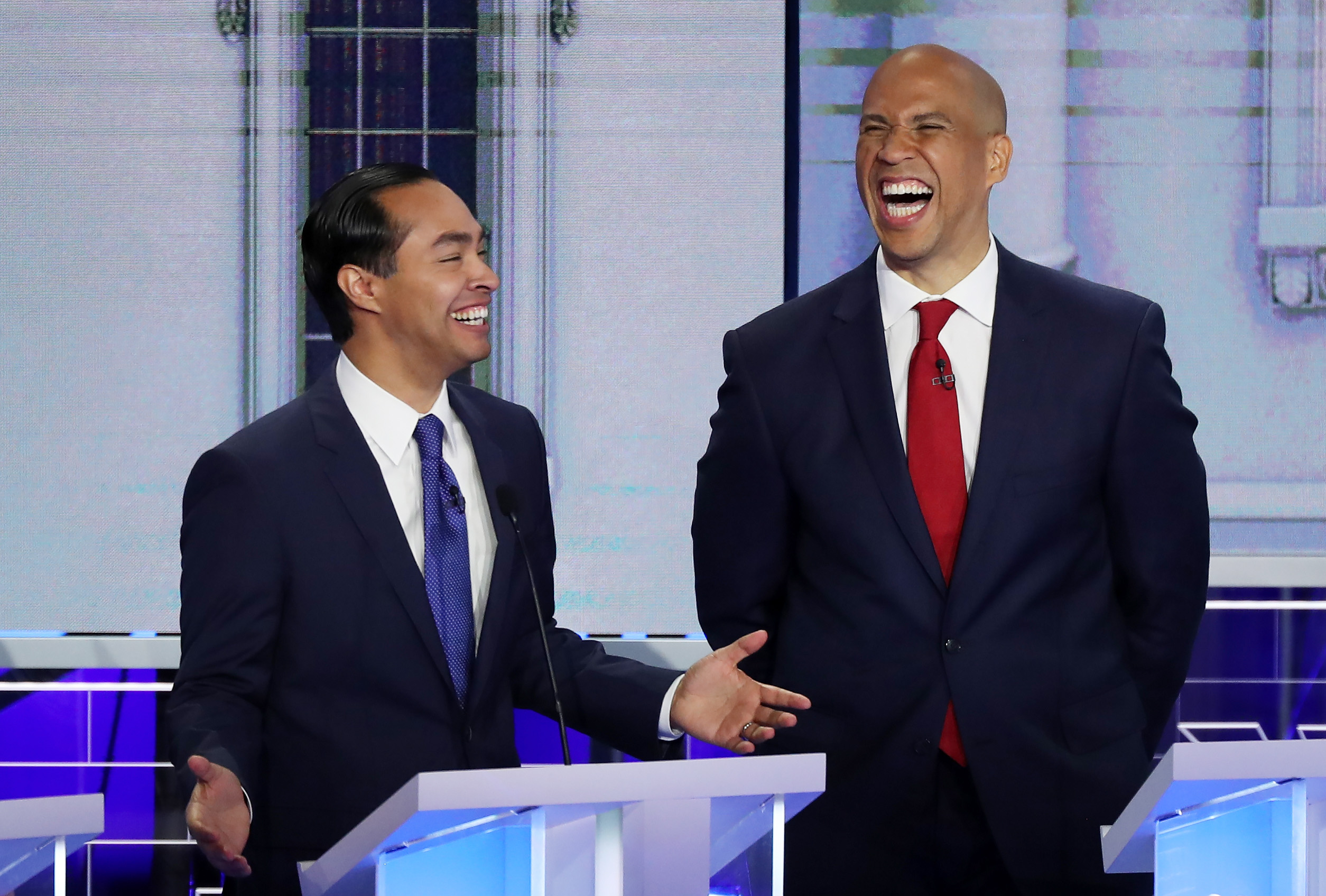 Democrats took a risk by speaking Spanish during the debate