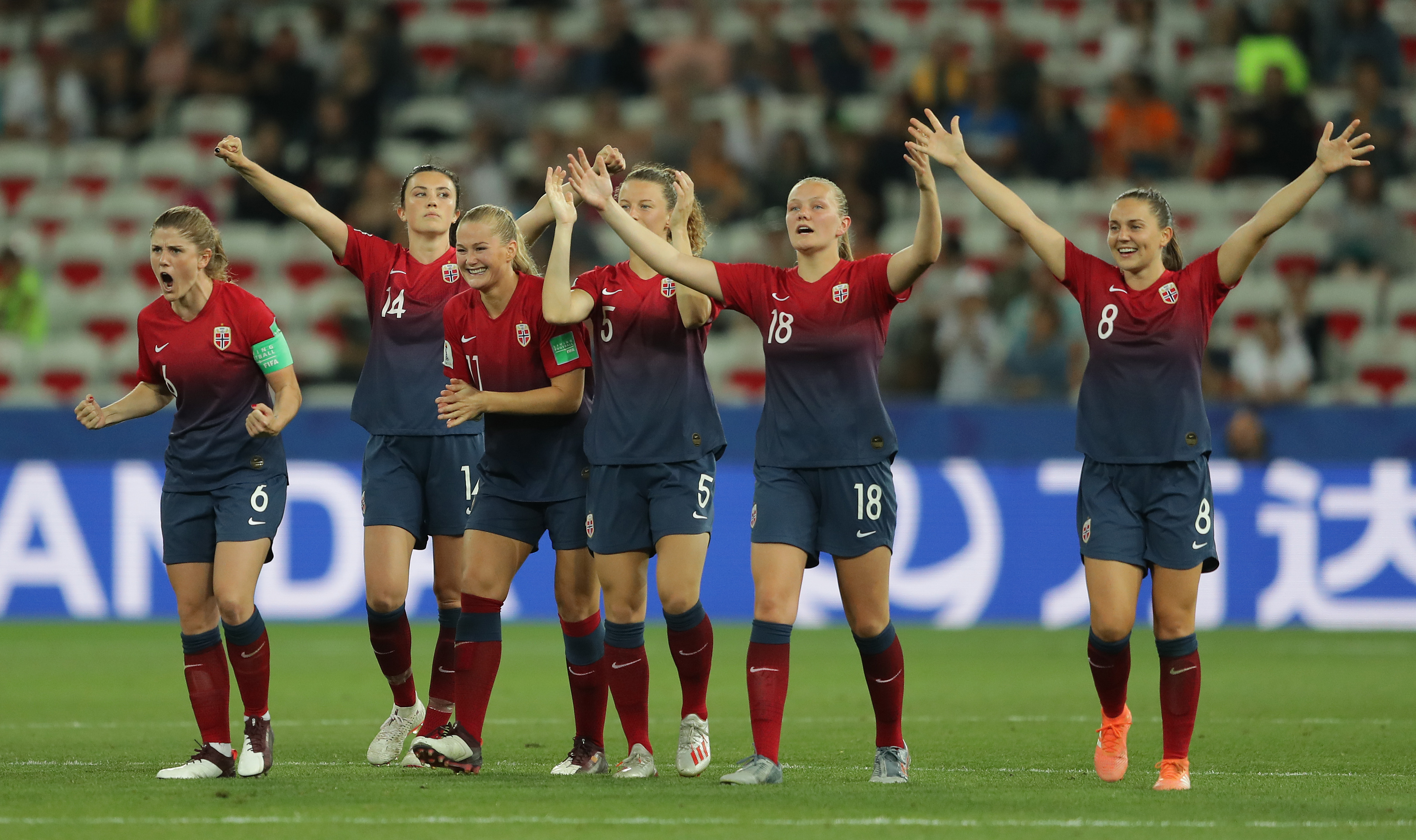 Norway v Australia: Round Of 16 - 2019 FIFA Women's World Cup France