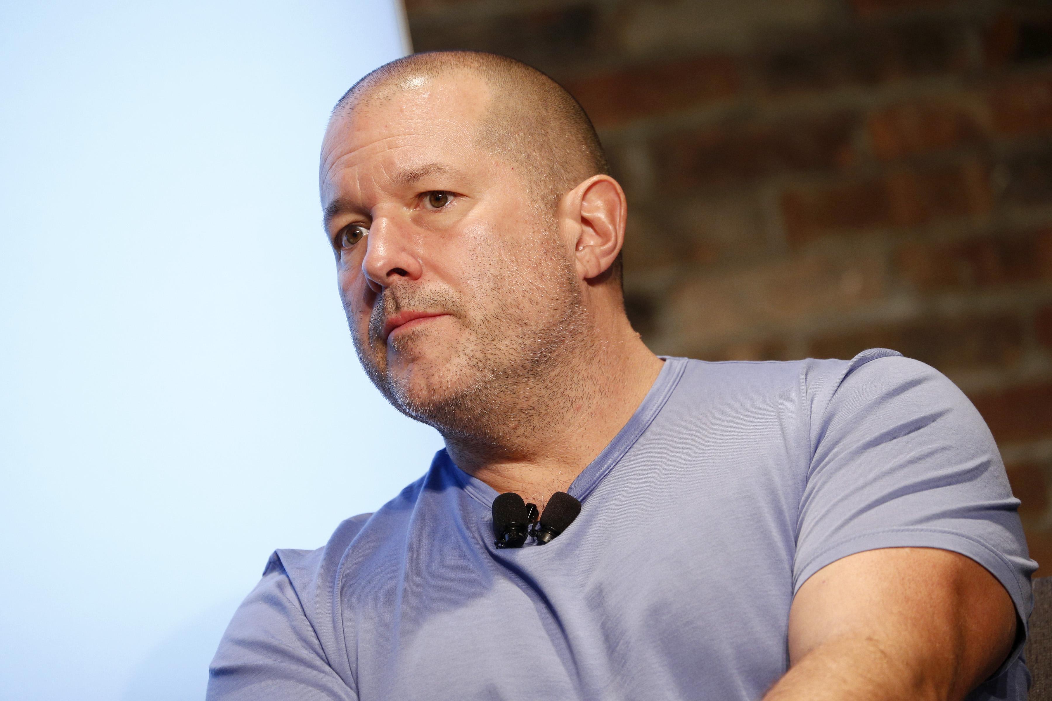 Apple chief design officer Jony Ive.