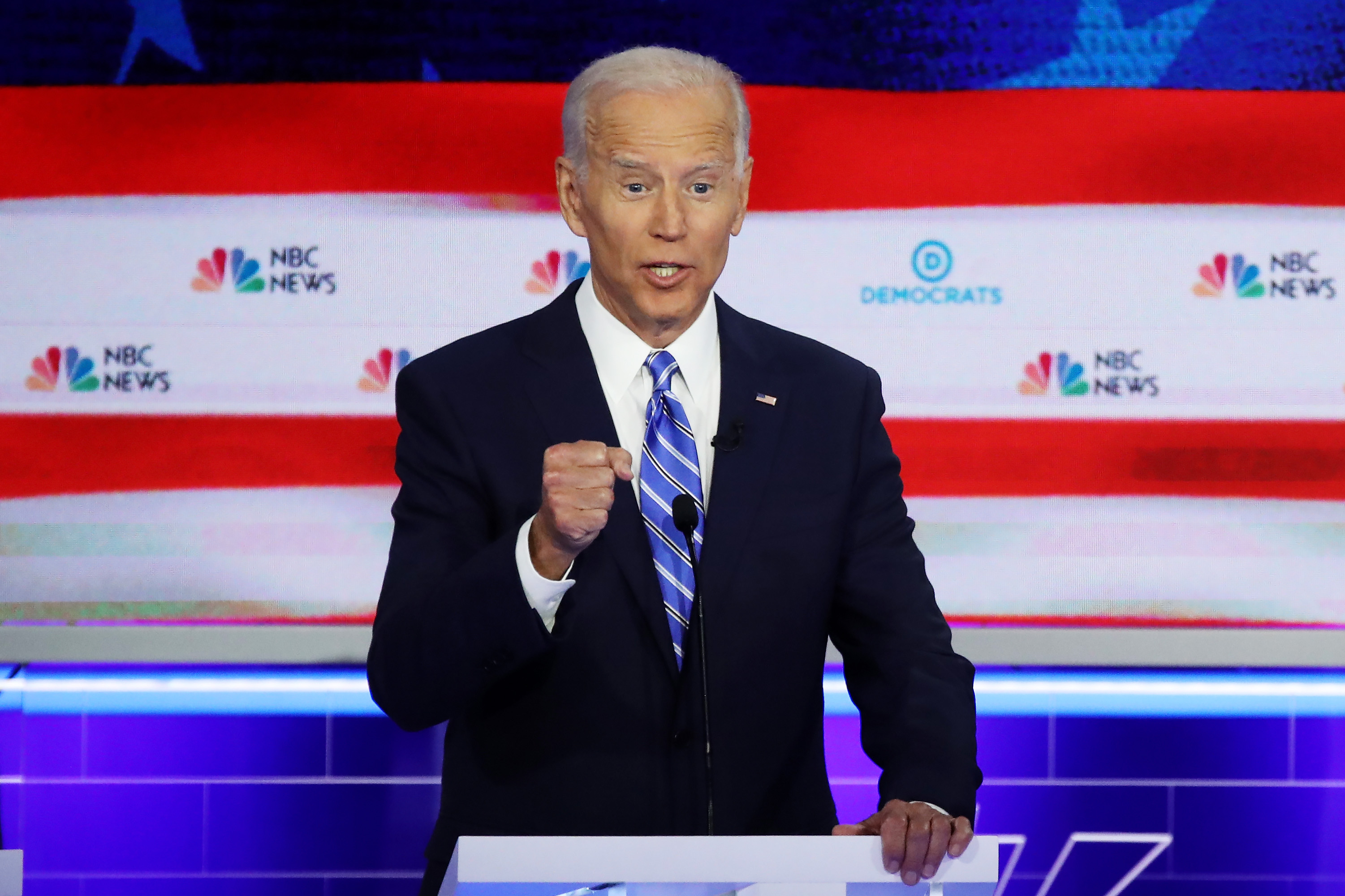 Biden blew his first chance to answer for his Iraq War vote
