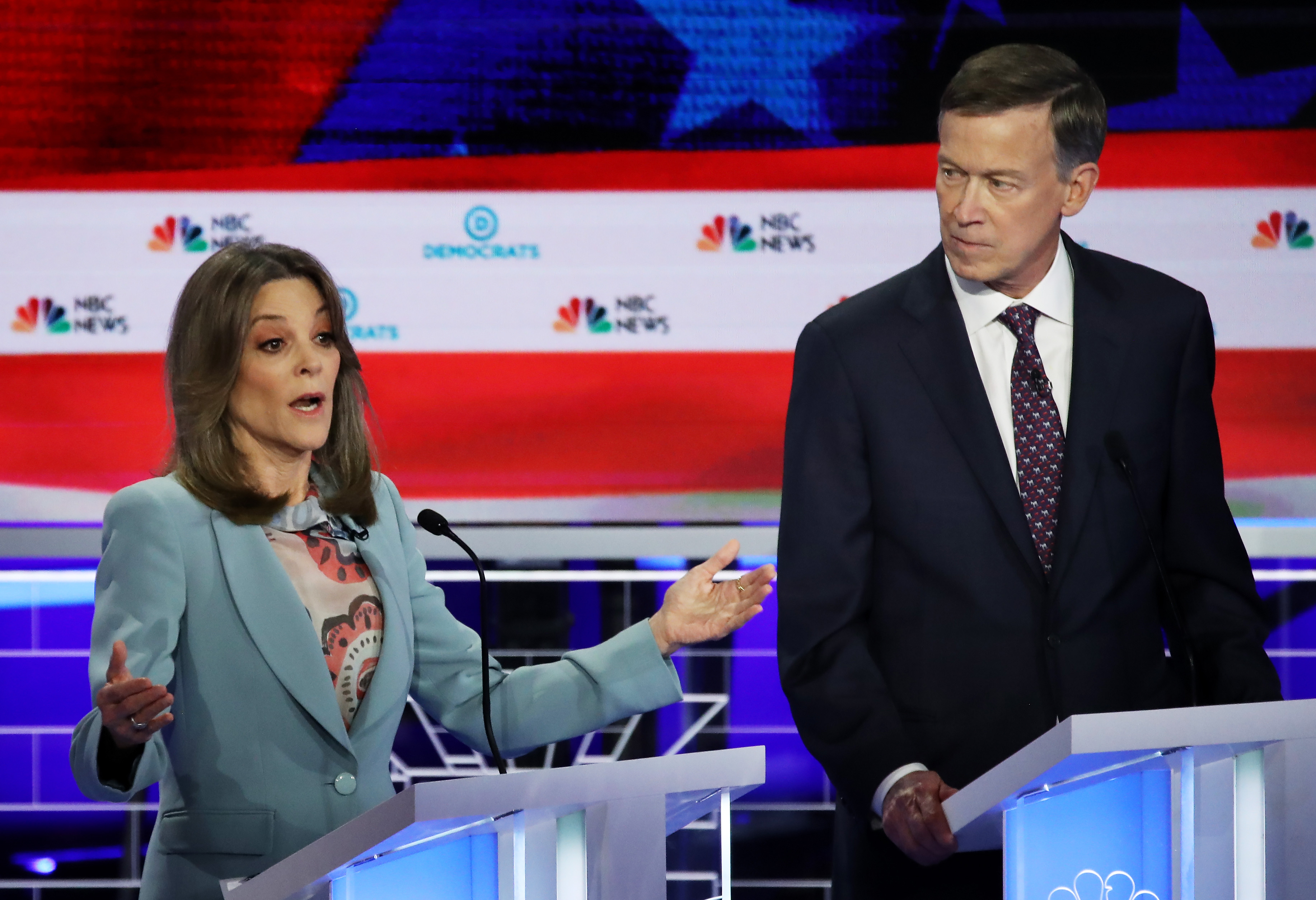 Marianne Williamson's highlights at the Democratic debate - Vox