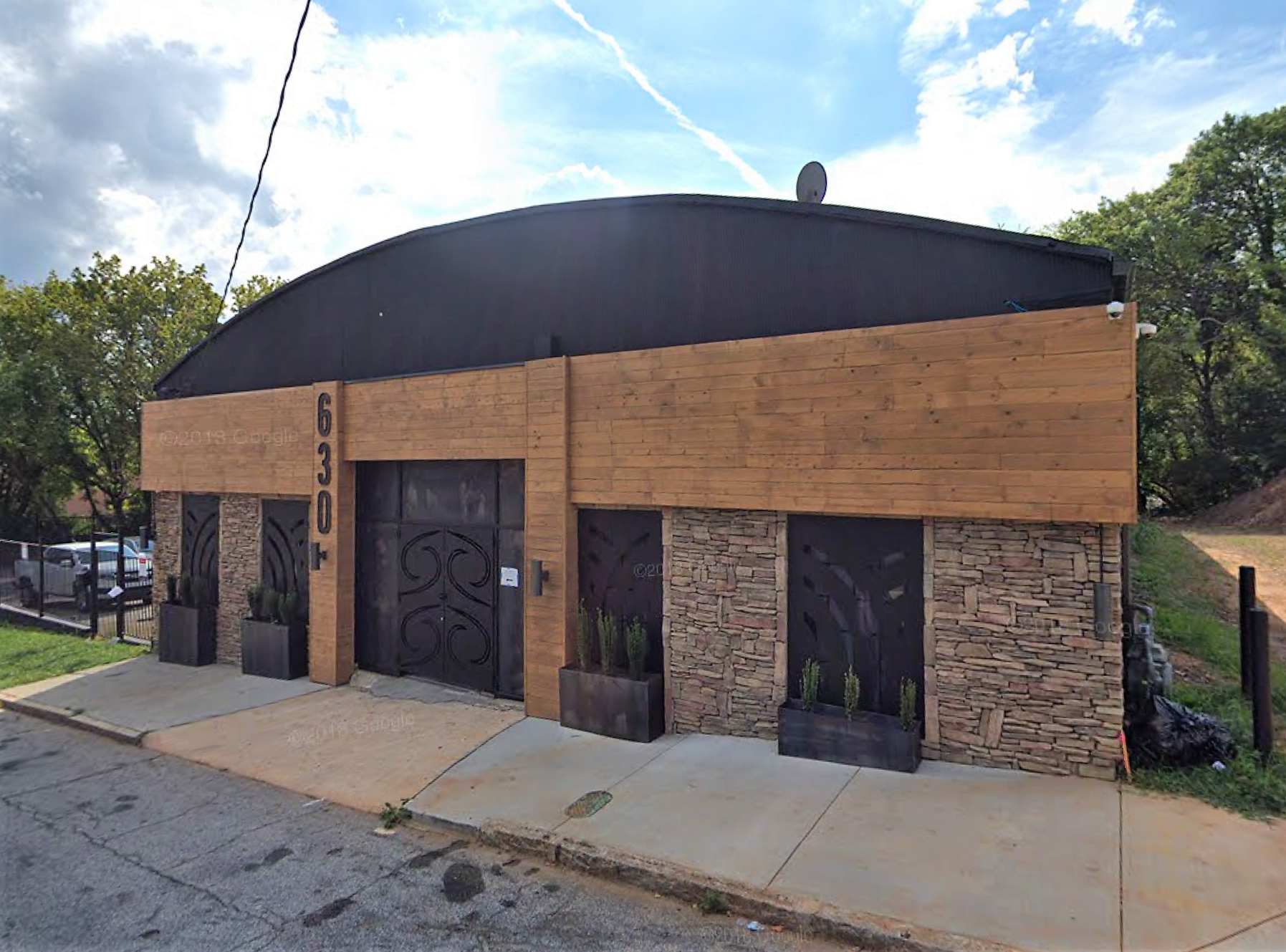 a picture of the trap music museum's exterior