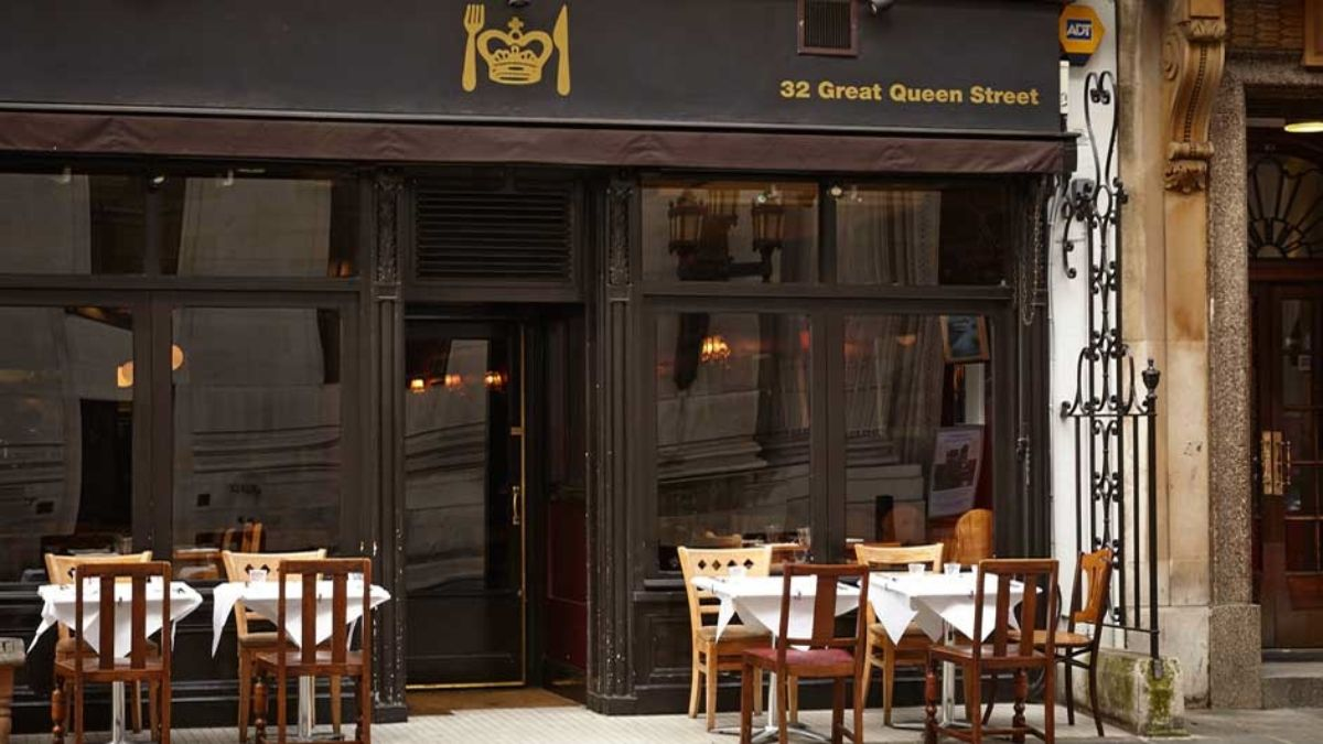 Great Queen Street Restaurant in Covent Garden Closes After 12 Years