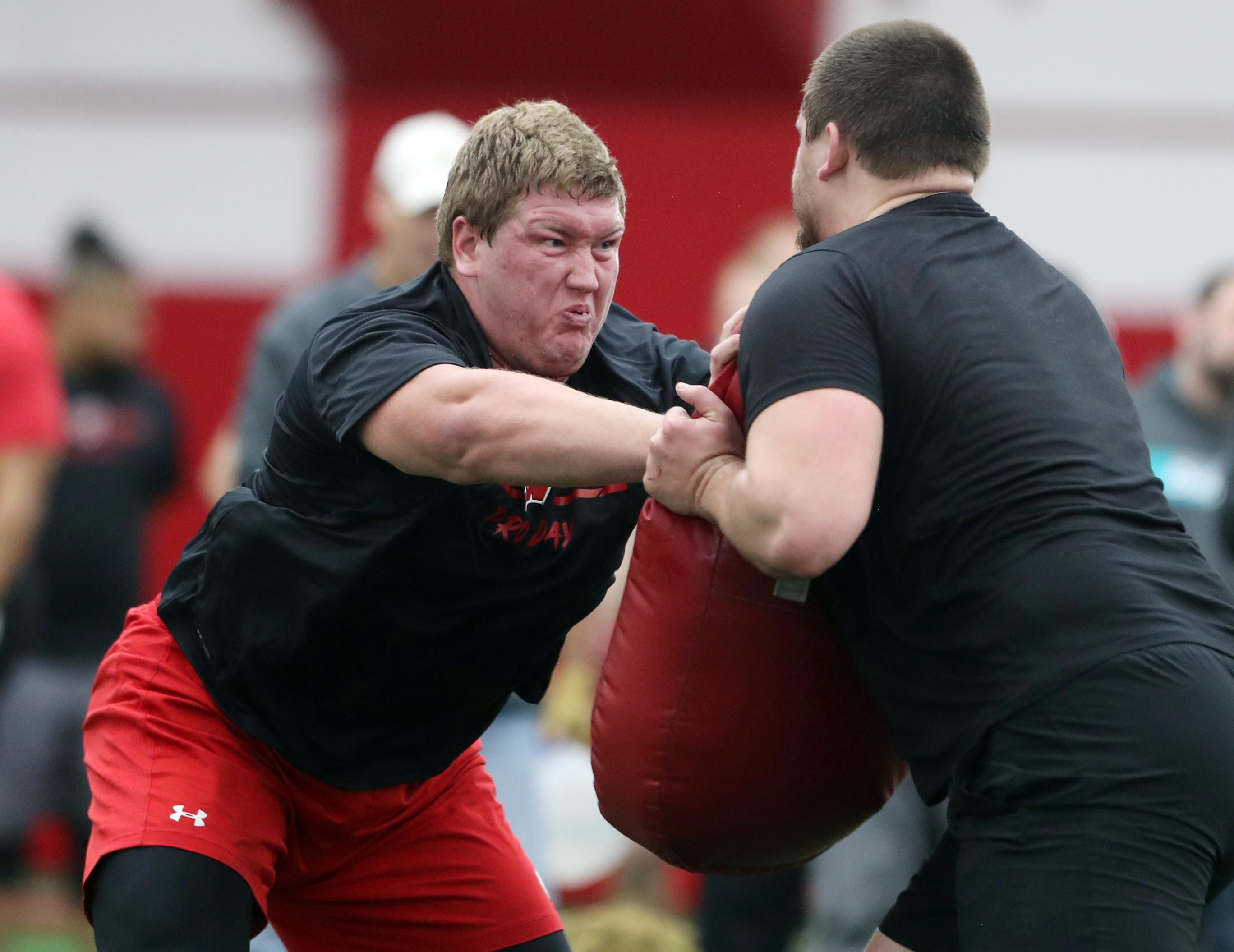 NCAA Football: Wisconsin Pro Day
