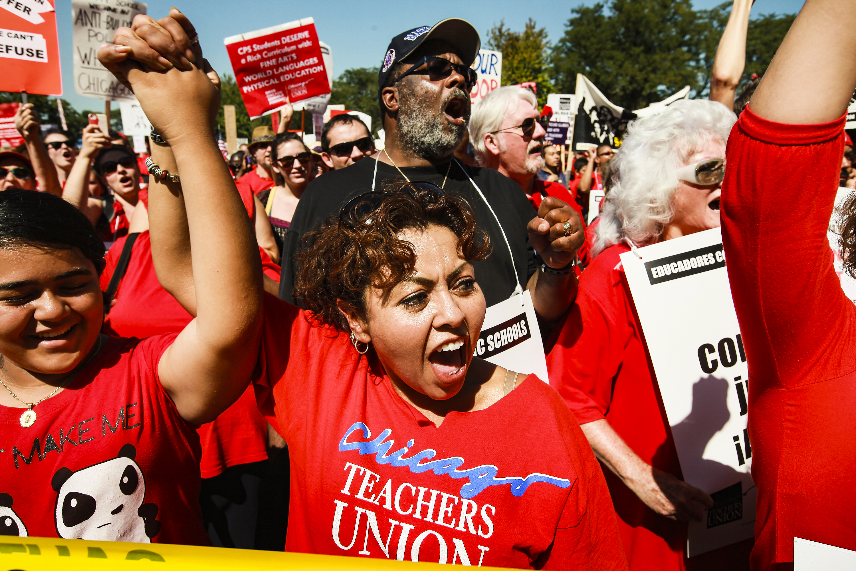The strike that brought teachers unions back from the dead