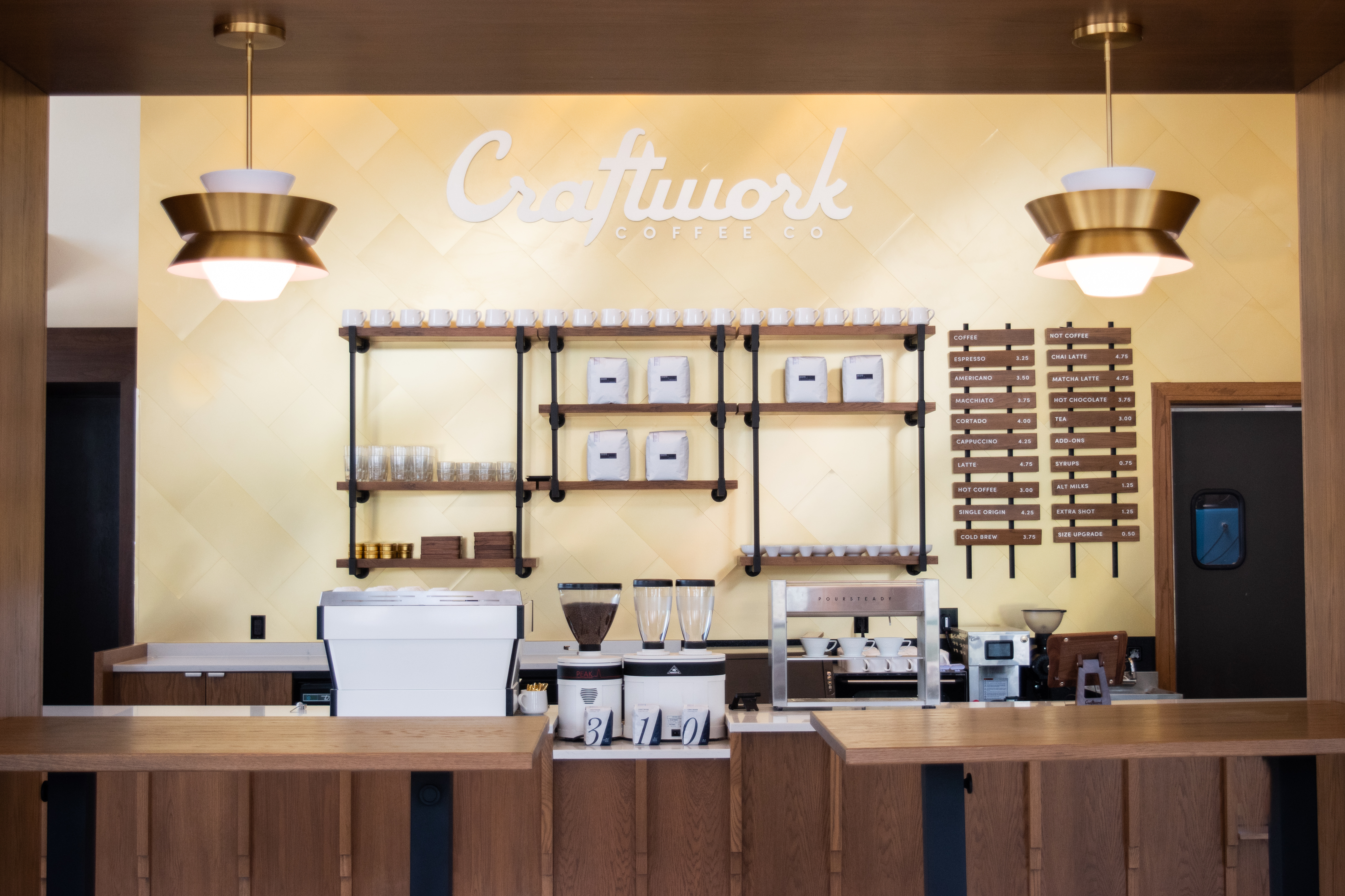 Craftwork Coffee Co. in the Domain