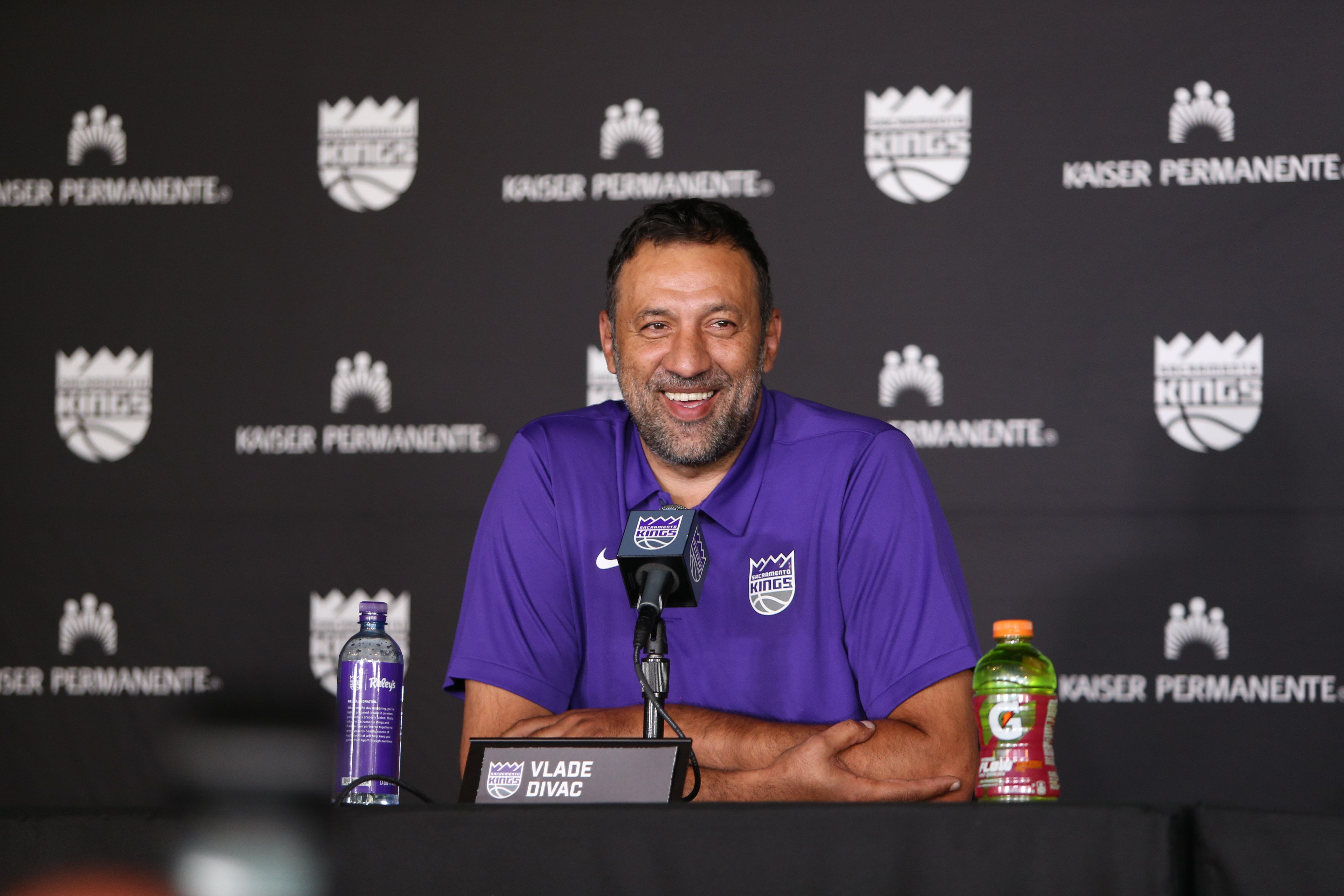 NBA: Sacremento Kings-Press Conference