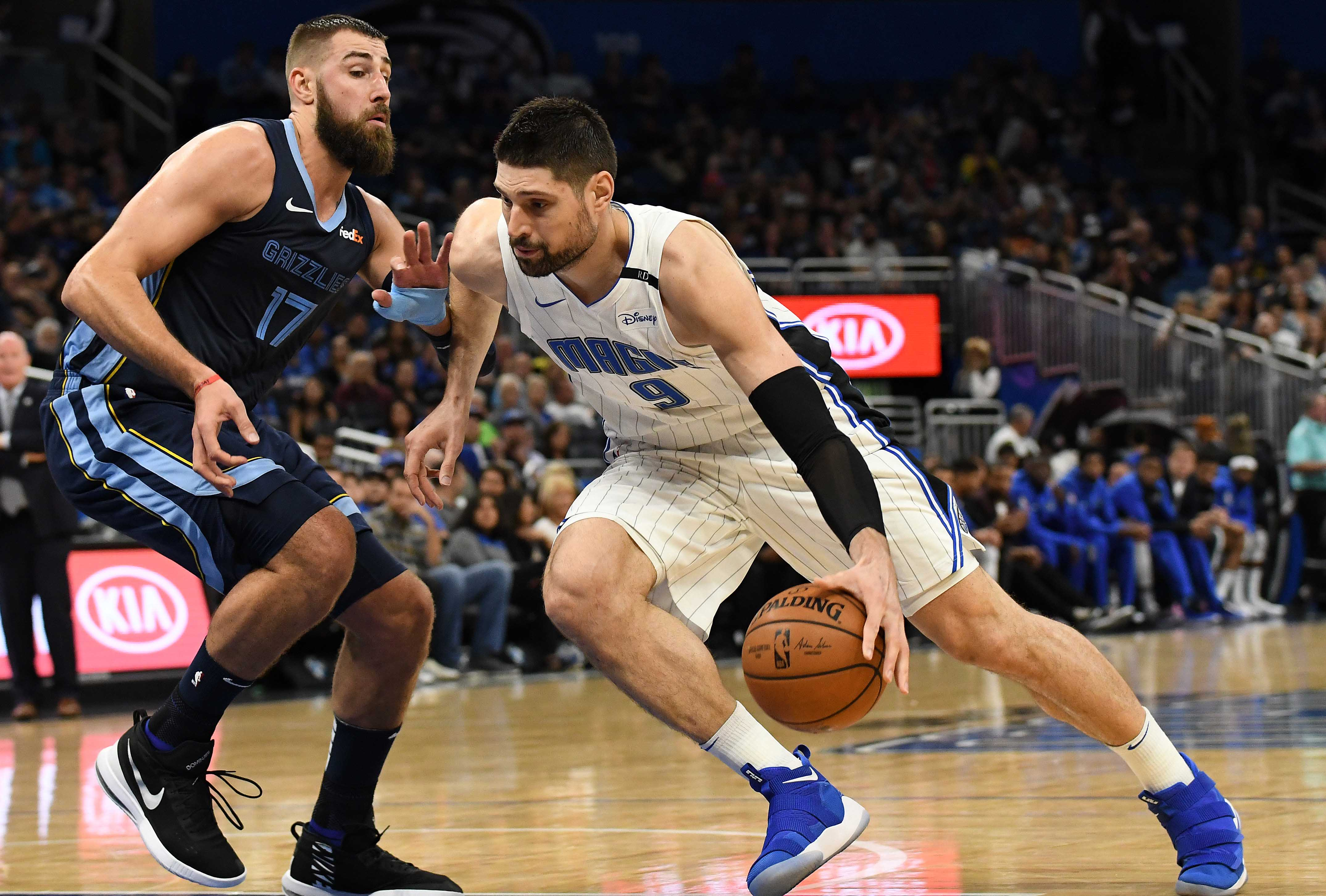 NBA: Memphis Grizzlies at Orlando Magic