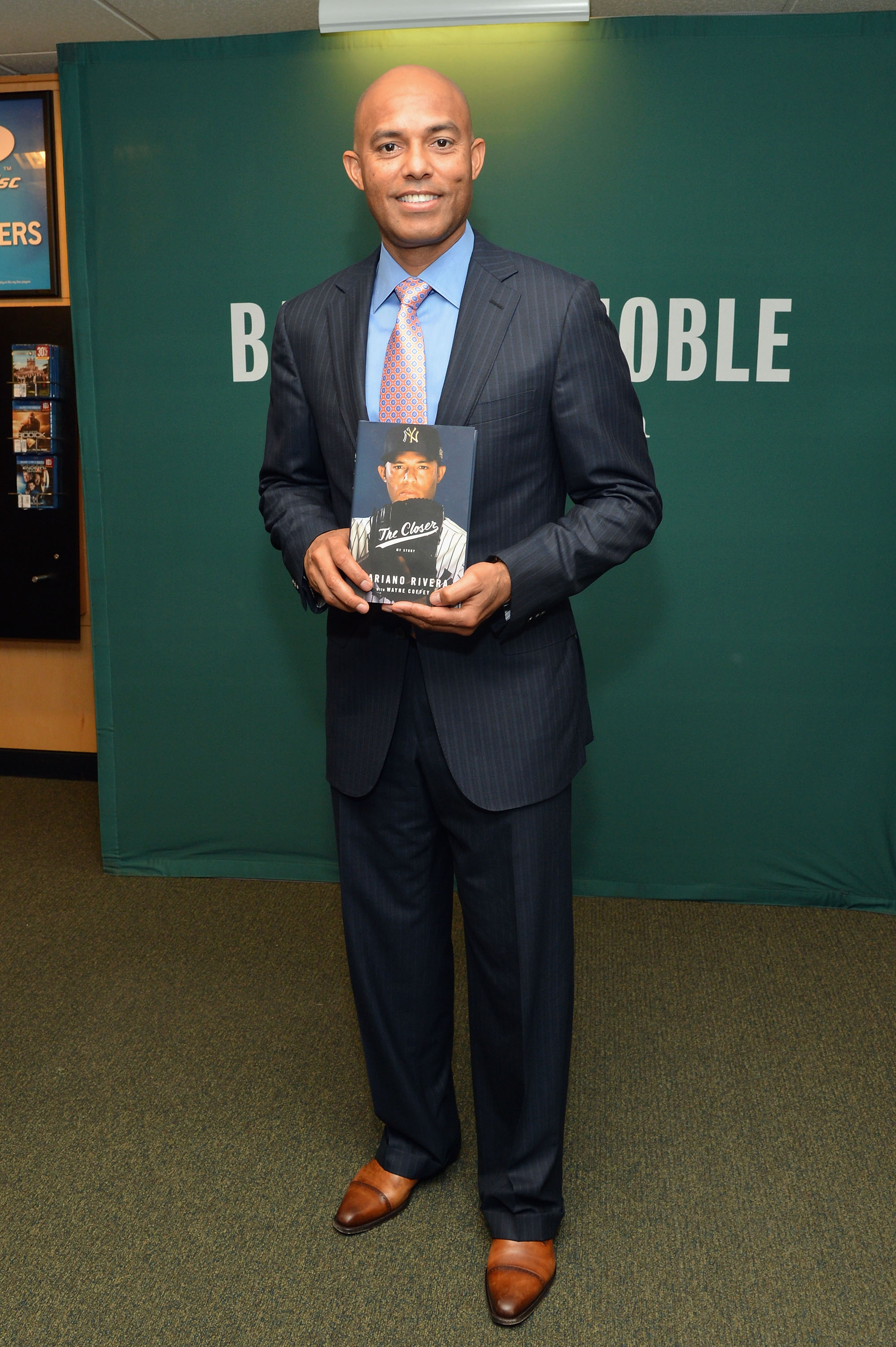 """Mariano Rivera Signs Copies Of His Book """"The Closer: My Story"""""""