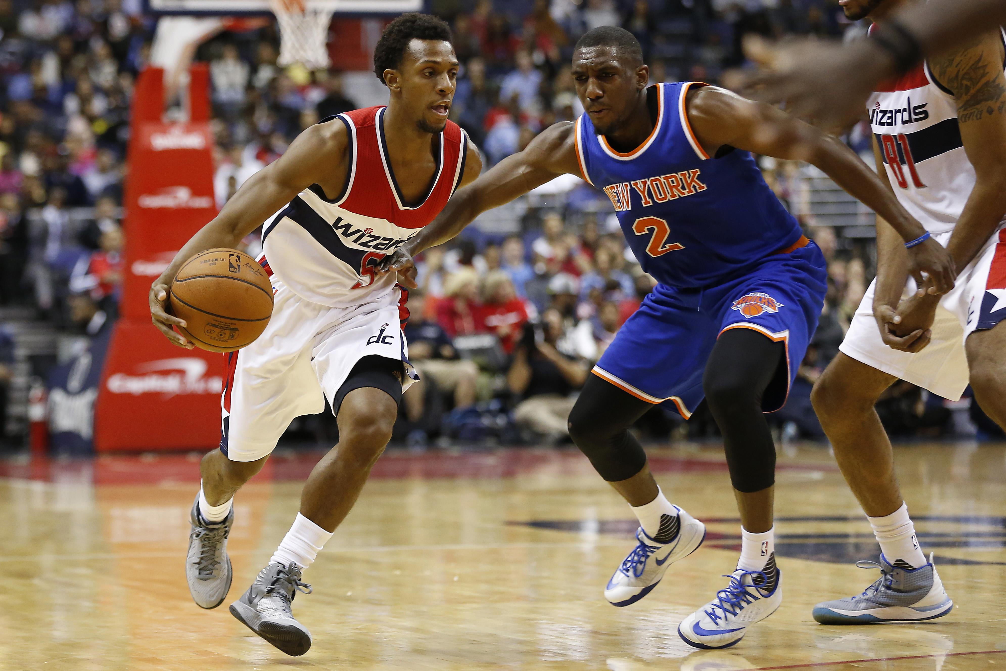 NBA: Preseason-New York Knicks at Washington Wizards