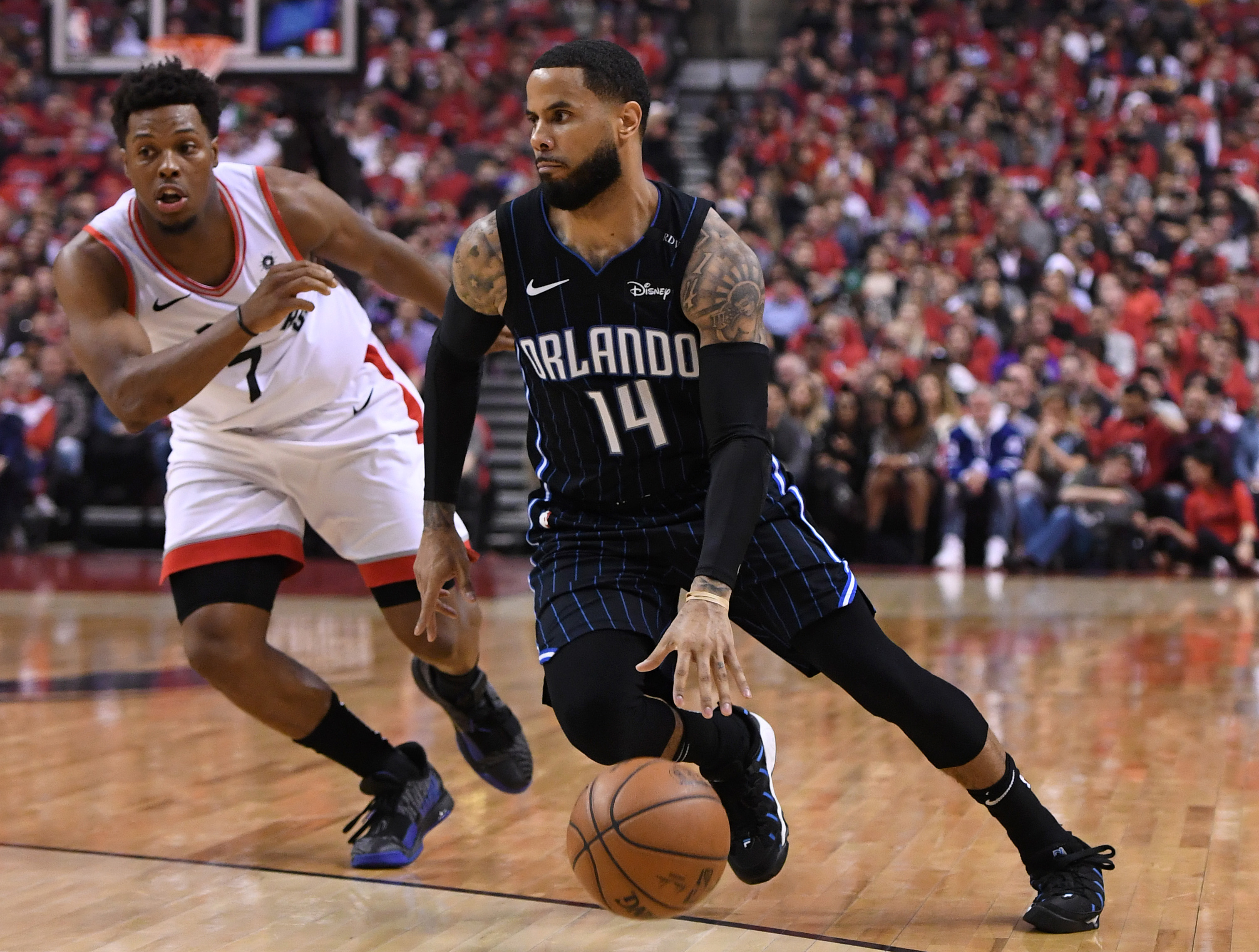 NBA: Playoffs-Orlando Magic at Toronto Raptors