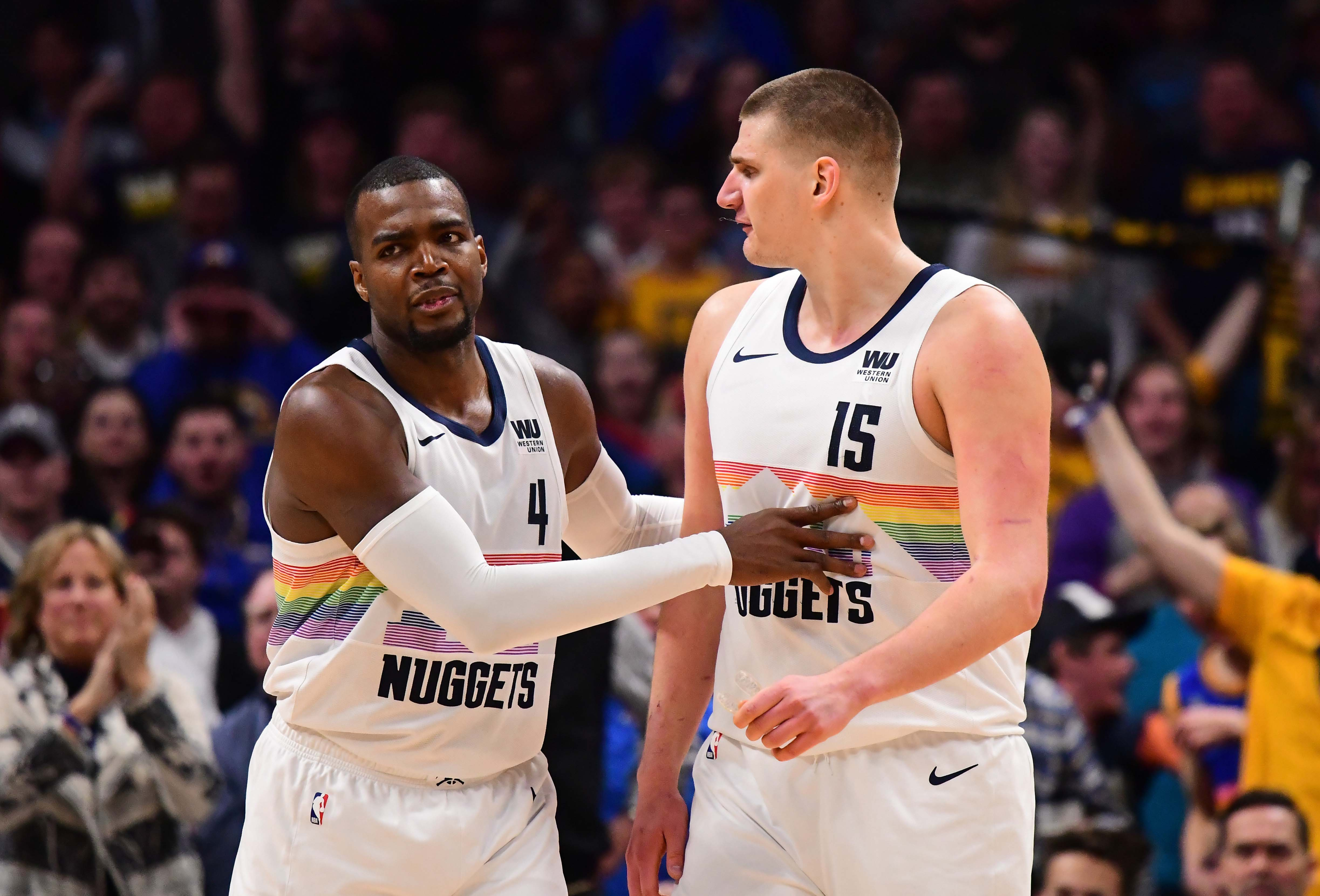 NBA: Indiana Pacers at Denver Nuggets